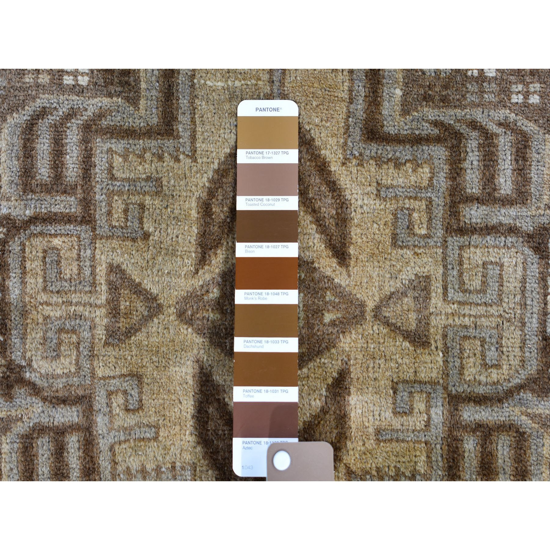 """2'9""""x9'4"""" Washed Out Afghan Baluch With Natural Colors Pure Wool Runner Hand Knotted Oriental Rug"""