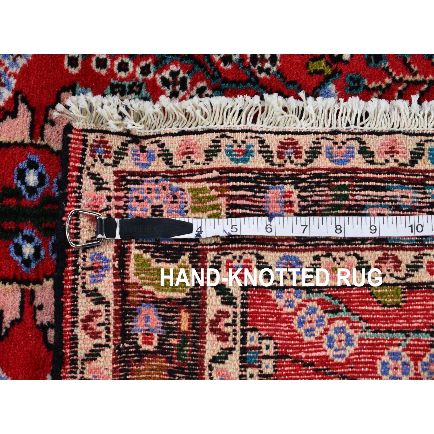 """2'6""""x3'5""""  Red New Persian Lilahan Pure Wool Hand Knotted Oriental Rug"""