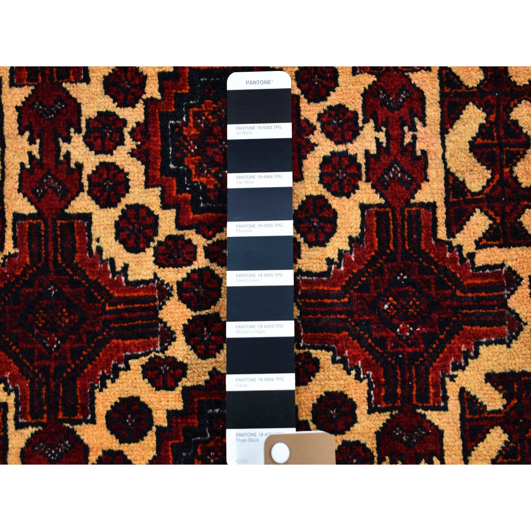 """2'9""""x2'9""""  Square Afghan Baluch Pure wool Hand Knotted Oriental Rug"""