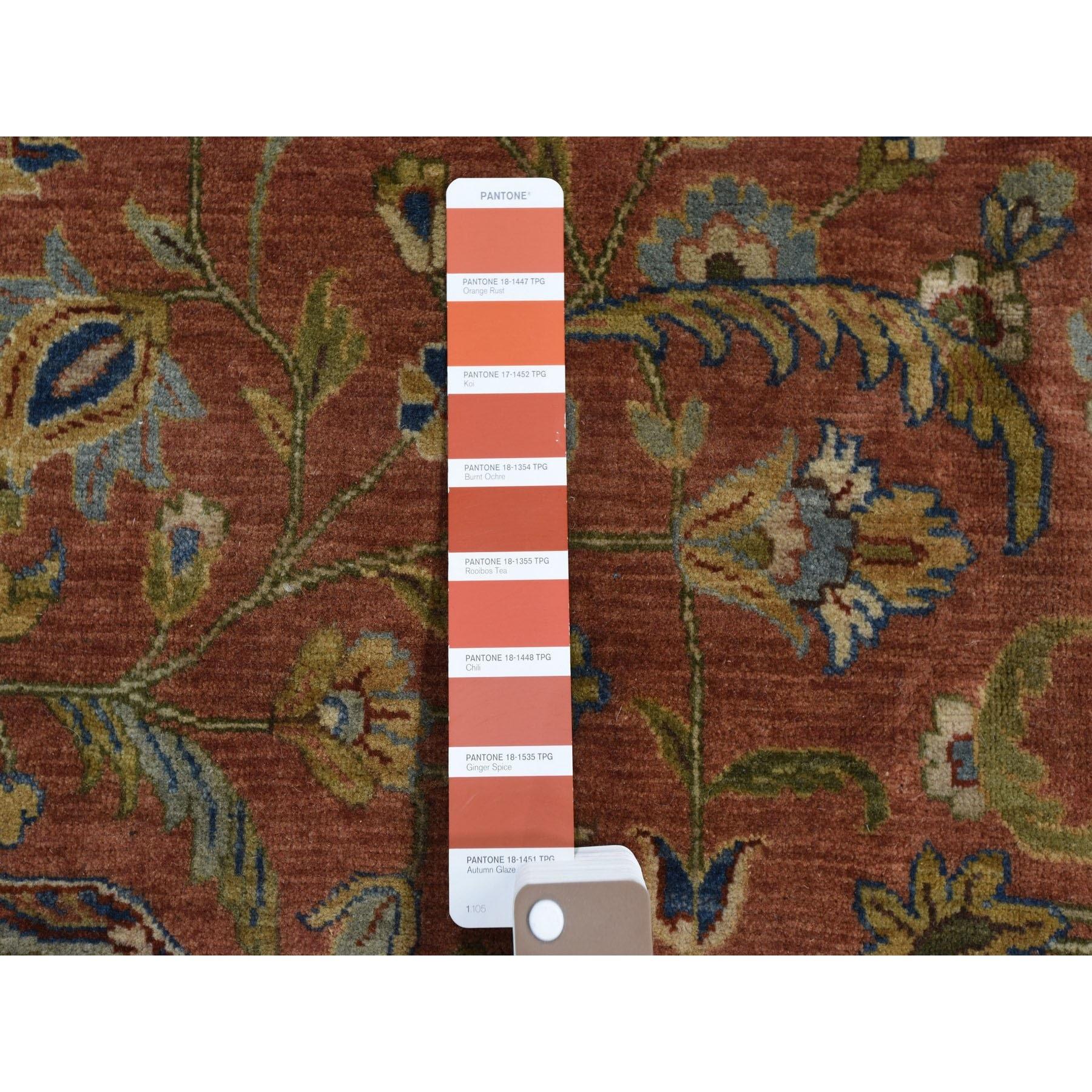 12'x15' Oversized Tabriz 300 KPSI New Zealand Wool Hand Knotted Oriental Rug