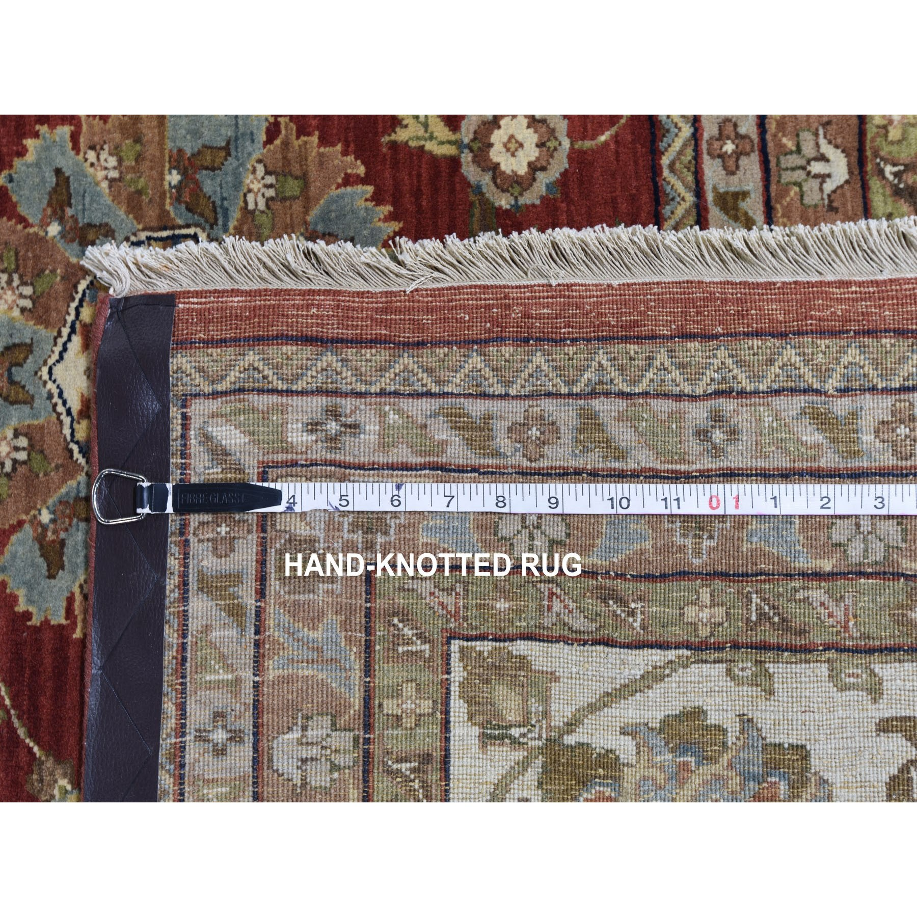 """11'10""""x18' Oversized All Over Tabriz Design 300 KPSI New Zealand Wool Hand Knotted Oriental Rug"""