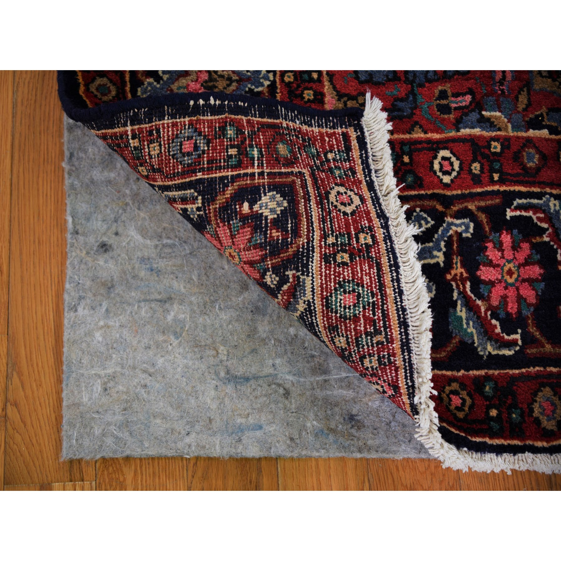 """4'4""""x7'9"""" Mocha New Persian Serab Camel Hair Full Pile Pure Wool Hand Knotted Oriental Rug"""