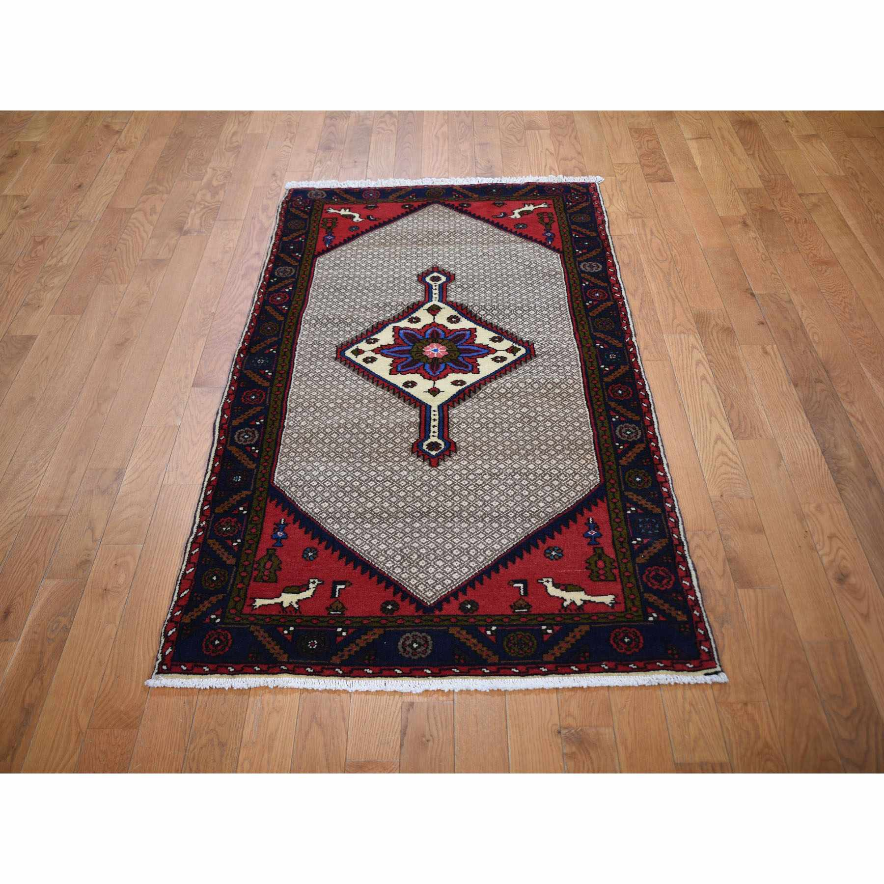 3-1 x6-7  New Persian Serab Runner Pure Wool Hand Knotted Oriental Rug