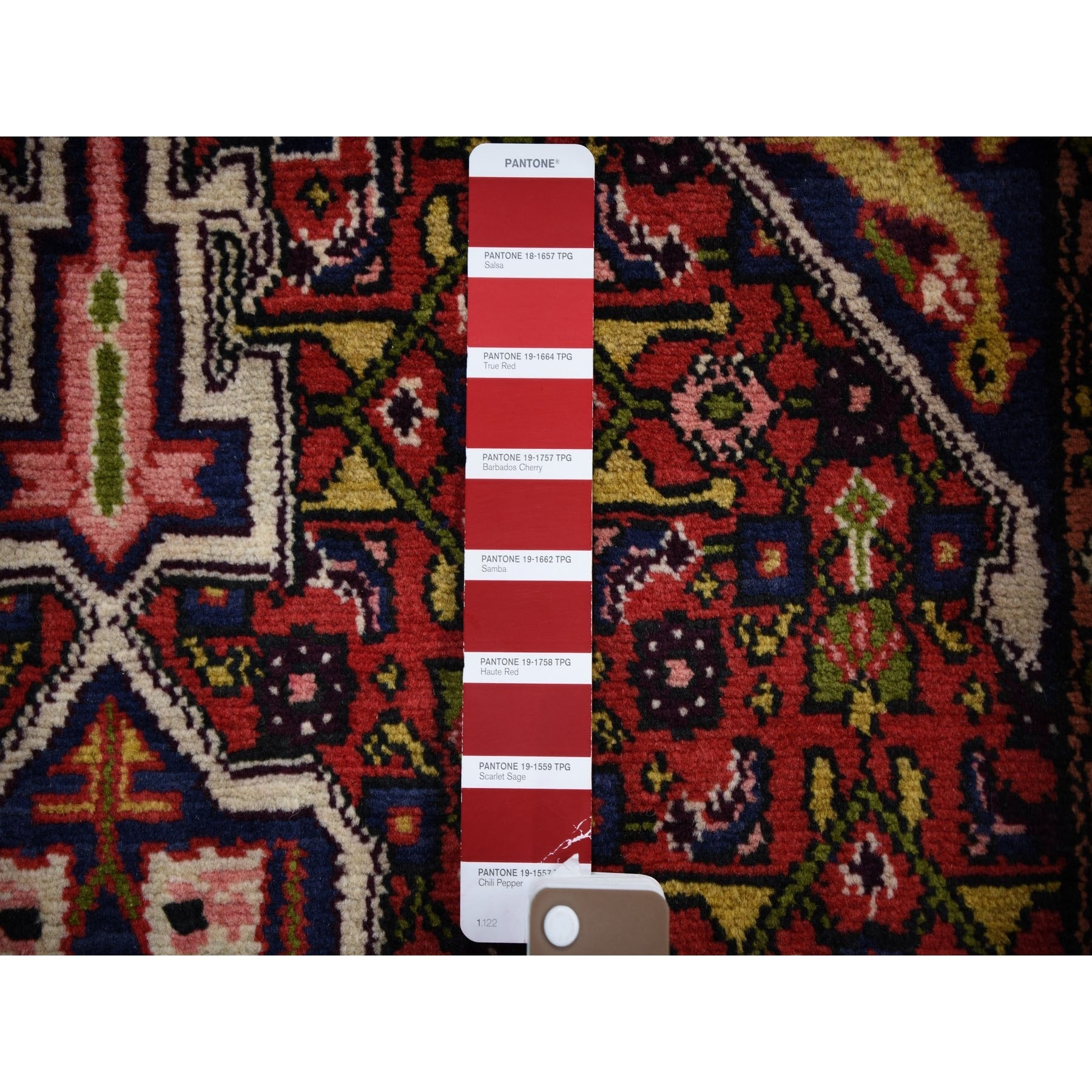 3-4 x6-2  Red New Persian Hamadan Senneh Weave Pure Wool Hand Knotted Bohemian Rug