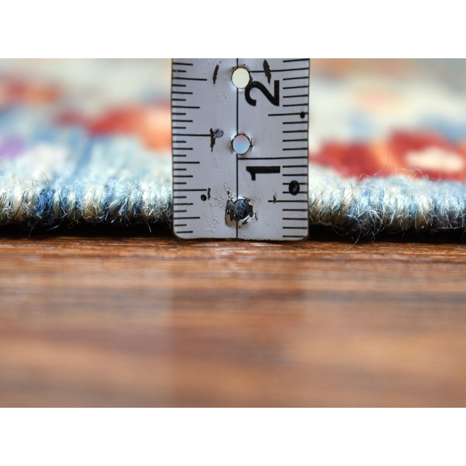 "10'2""x13'4"" Colorful Afghan Kilim Pure Wool Hand Woven Oriental Rug"