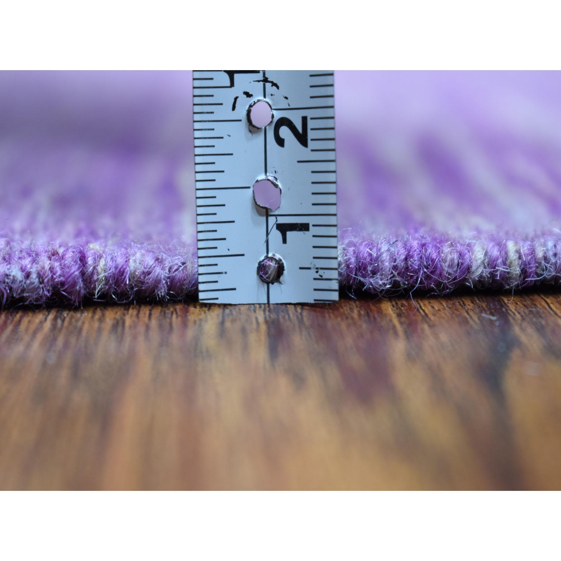 6-8 x9-8  Lavender Shades Flat Weave Kilim Pure Wool Hand Woven Oriental Rug