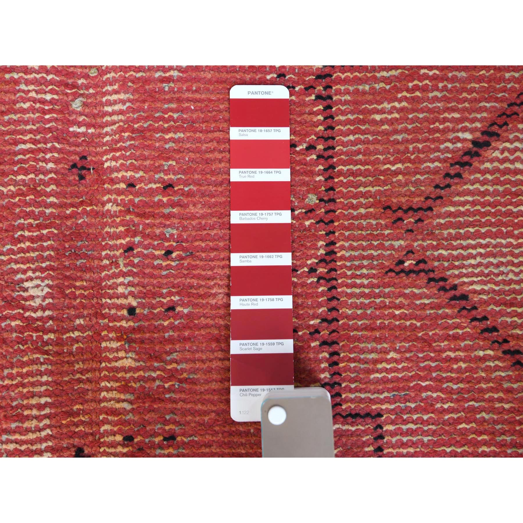 """4'9""""x9'6"""" Overdyed Persian Shiraz Wide Runner Worn Wool Hand Knotted Oriental Rug"""