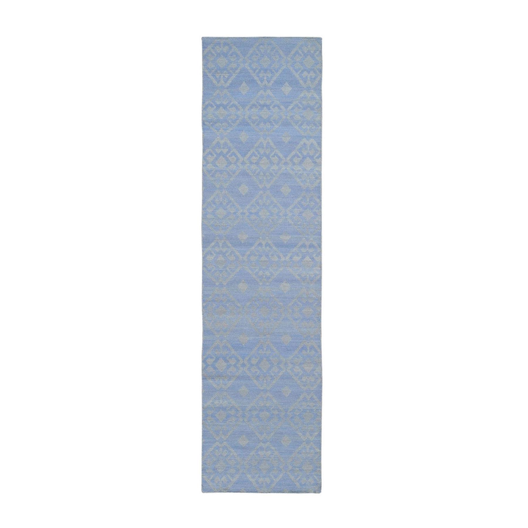 "2'7""X8' Pure Wool Reversible Kilim Flat Weave Hand Woven Oriental Rug moae9a80"