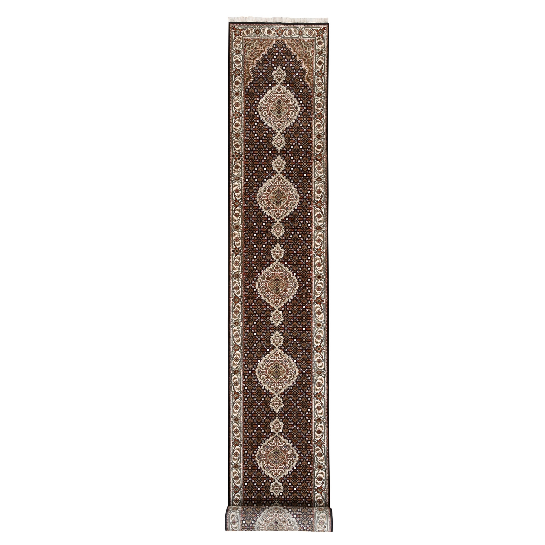 Pirniakan Collection Hand Knotted Black Rug No: 1124972