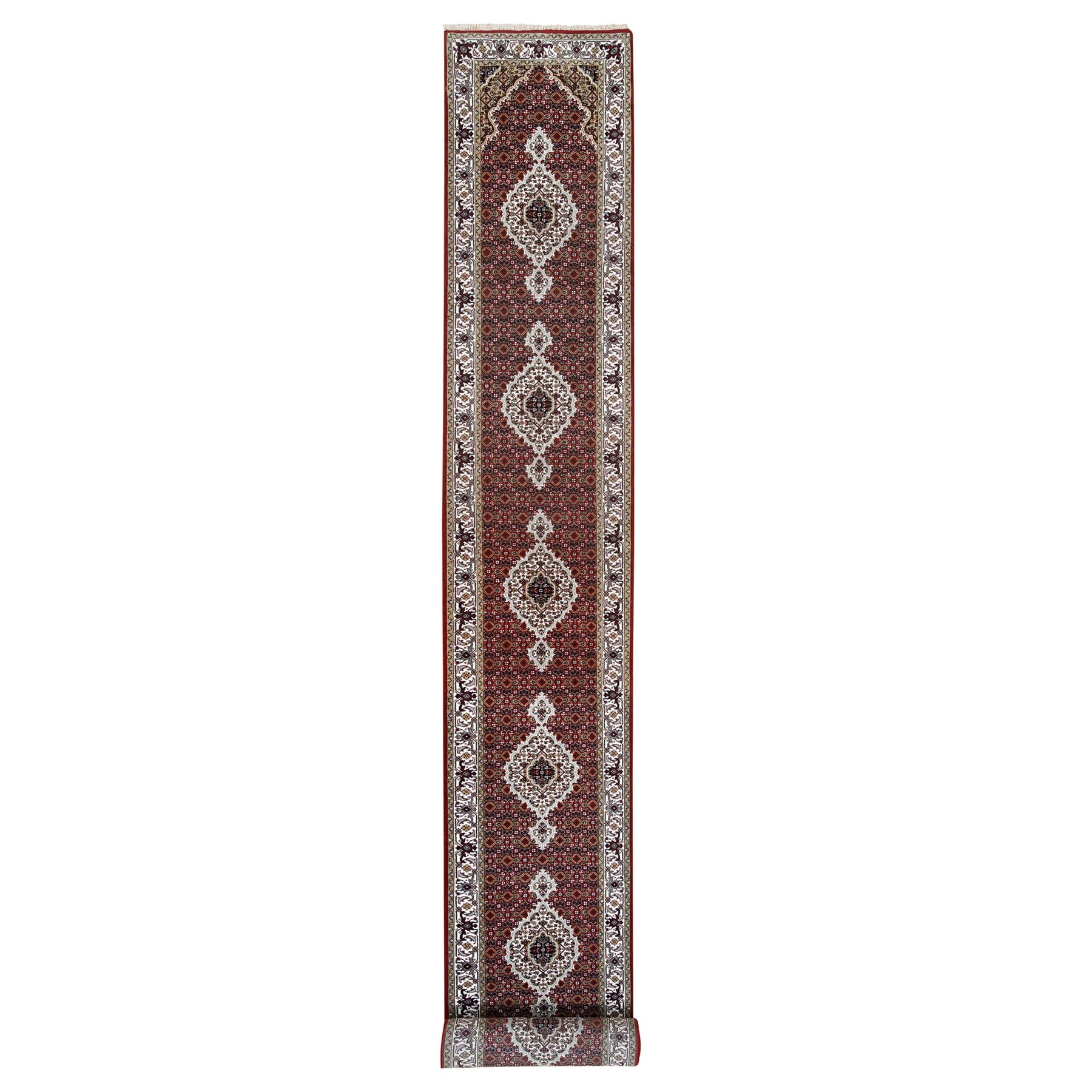 Pirniakan Collection Hand Knotted Red Rug No: 1125016