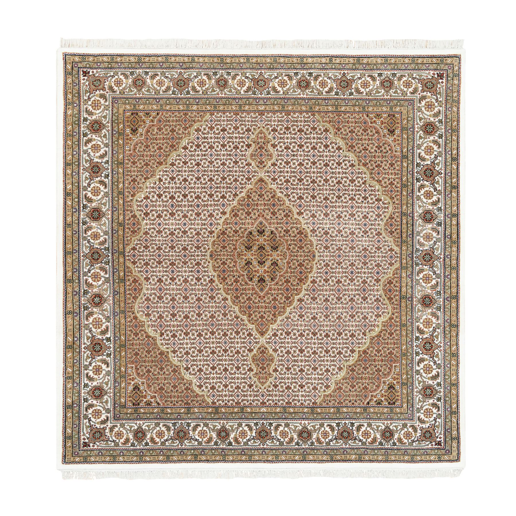 Pirniakan Collection Hand Knotted Ivory Rug No: 1125220
