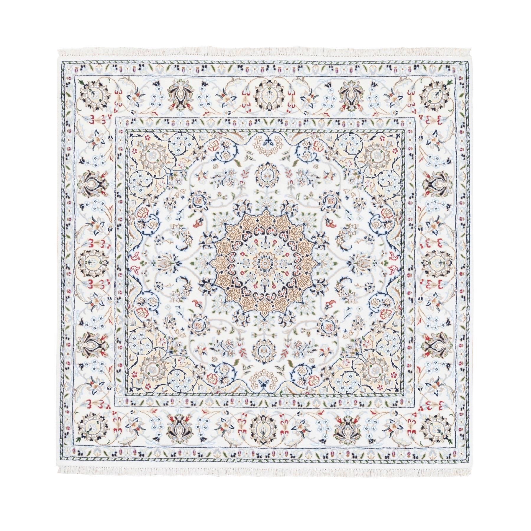 Pirniakan Collection Hand Knotted Ivory Rug No: 1125504