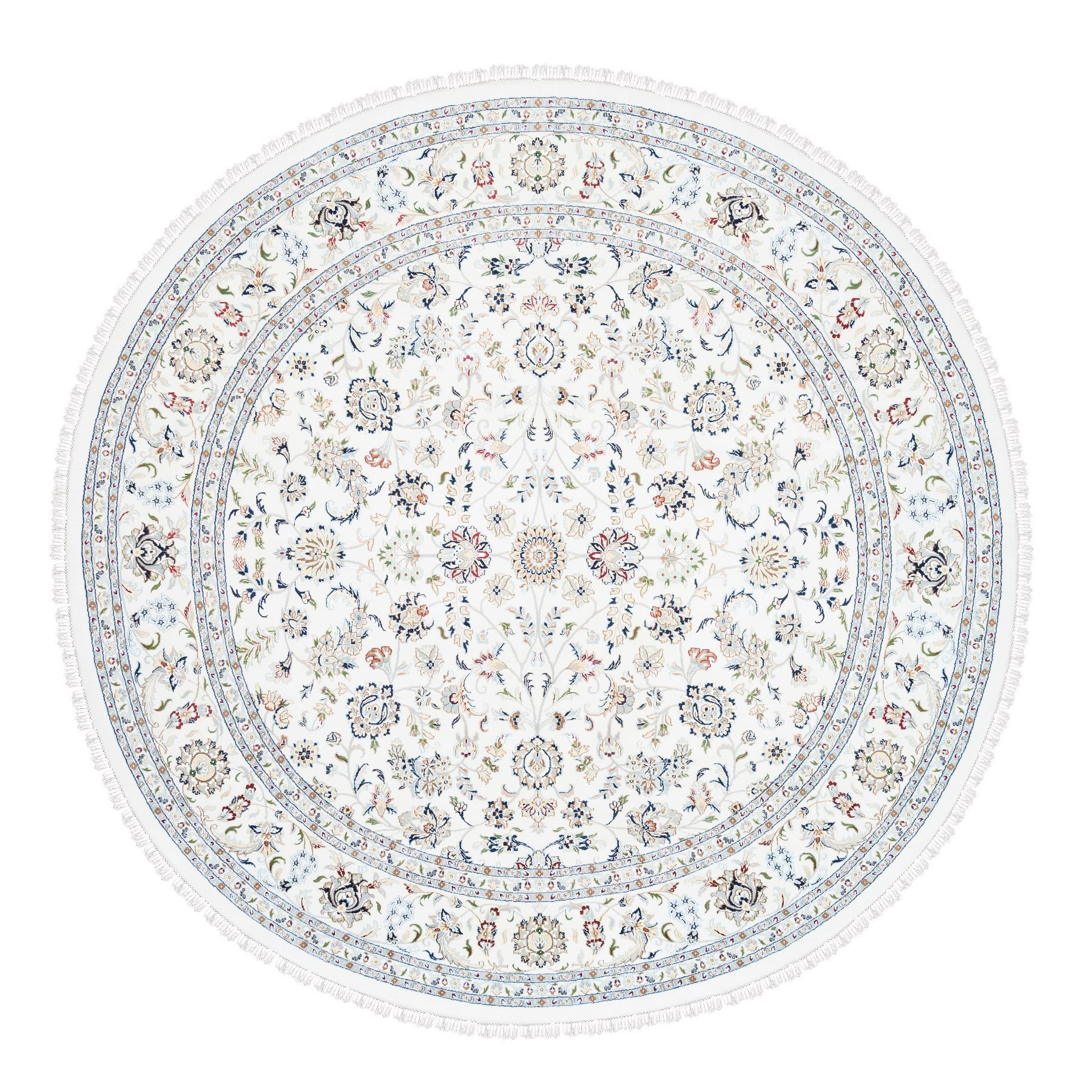 Pirniakan Collection Hand Knotted Ivory Rug No: 1125536