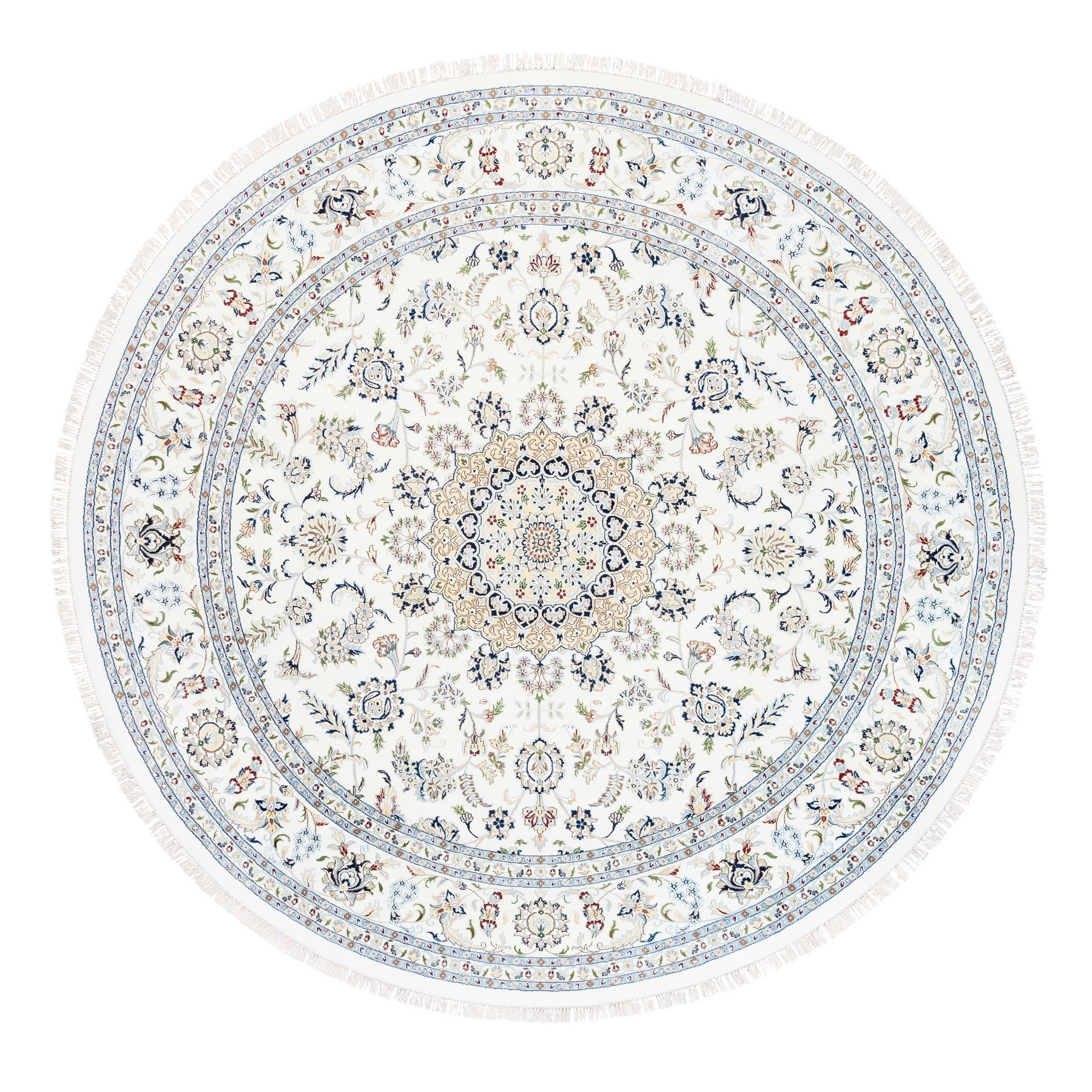 Pirniakan Collection Hand Knotted Ivory Rug No: 1125538
