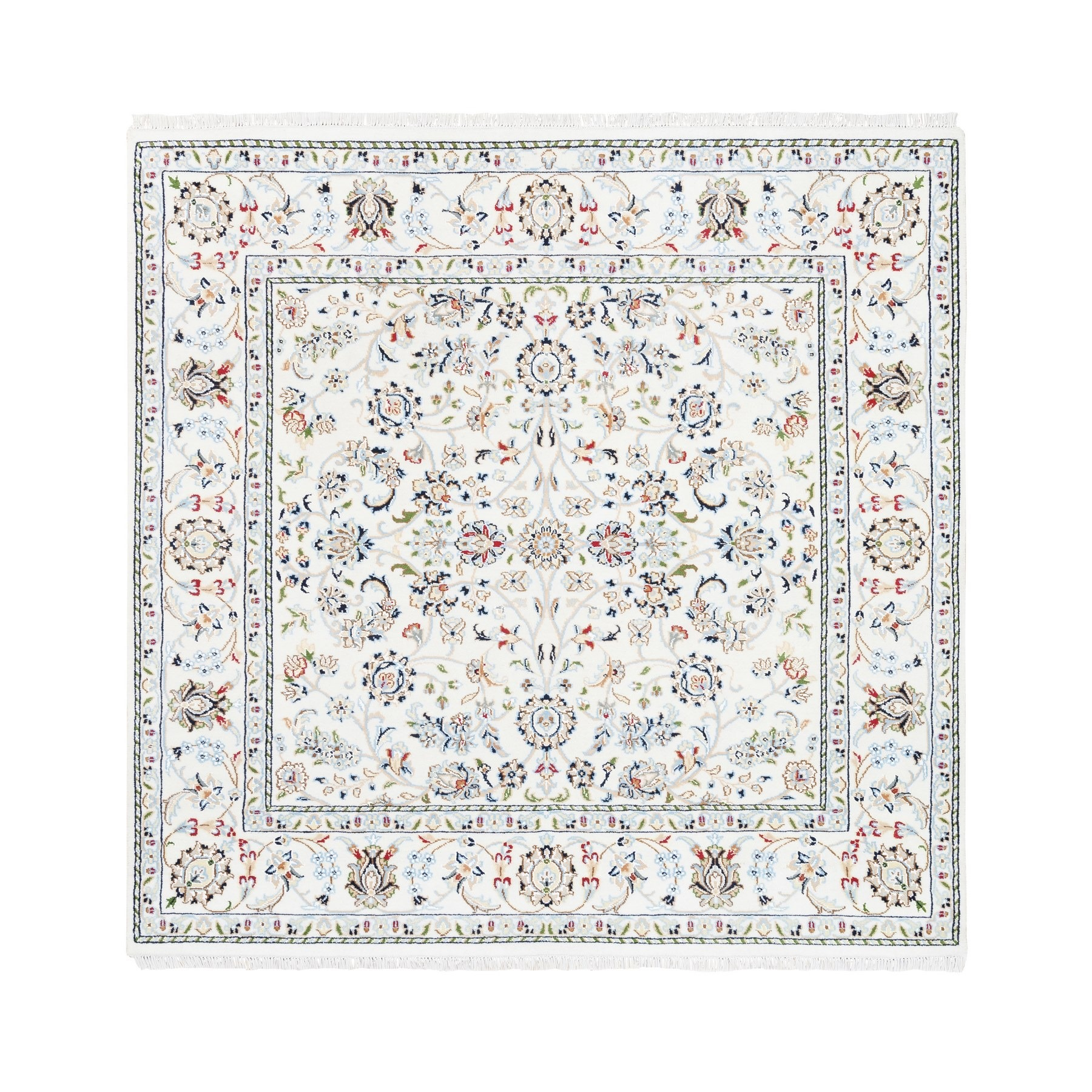 Pirniakan Collection Hand Knotted Ivory Rug No: 1125558