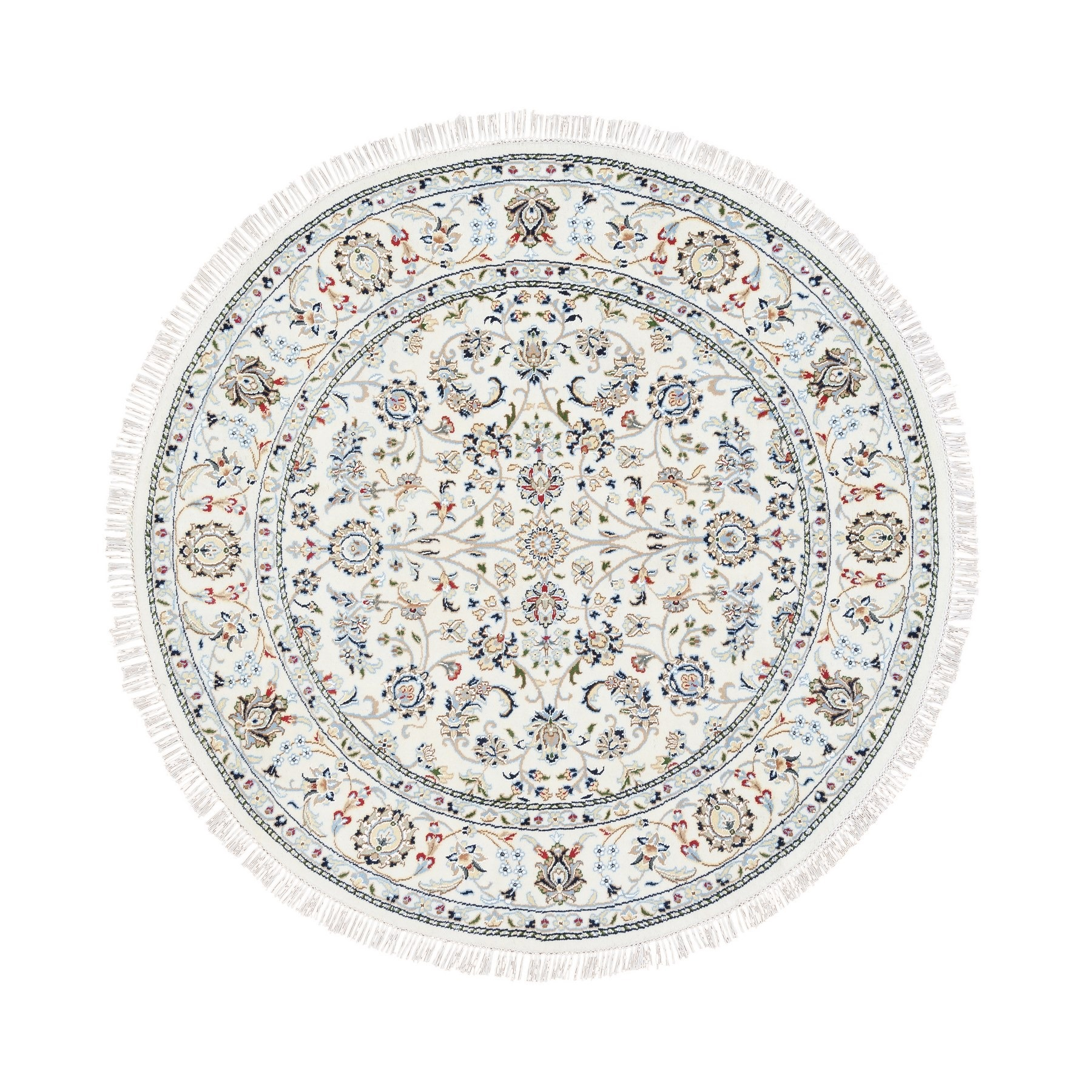 Pirniakan Collection Hand Knotted Ivory Rug No: 1125576