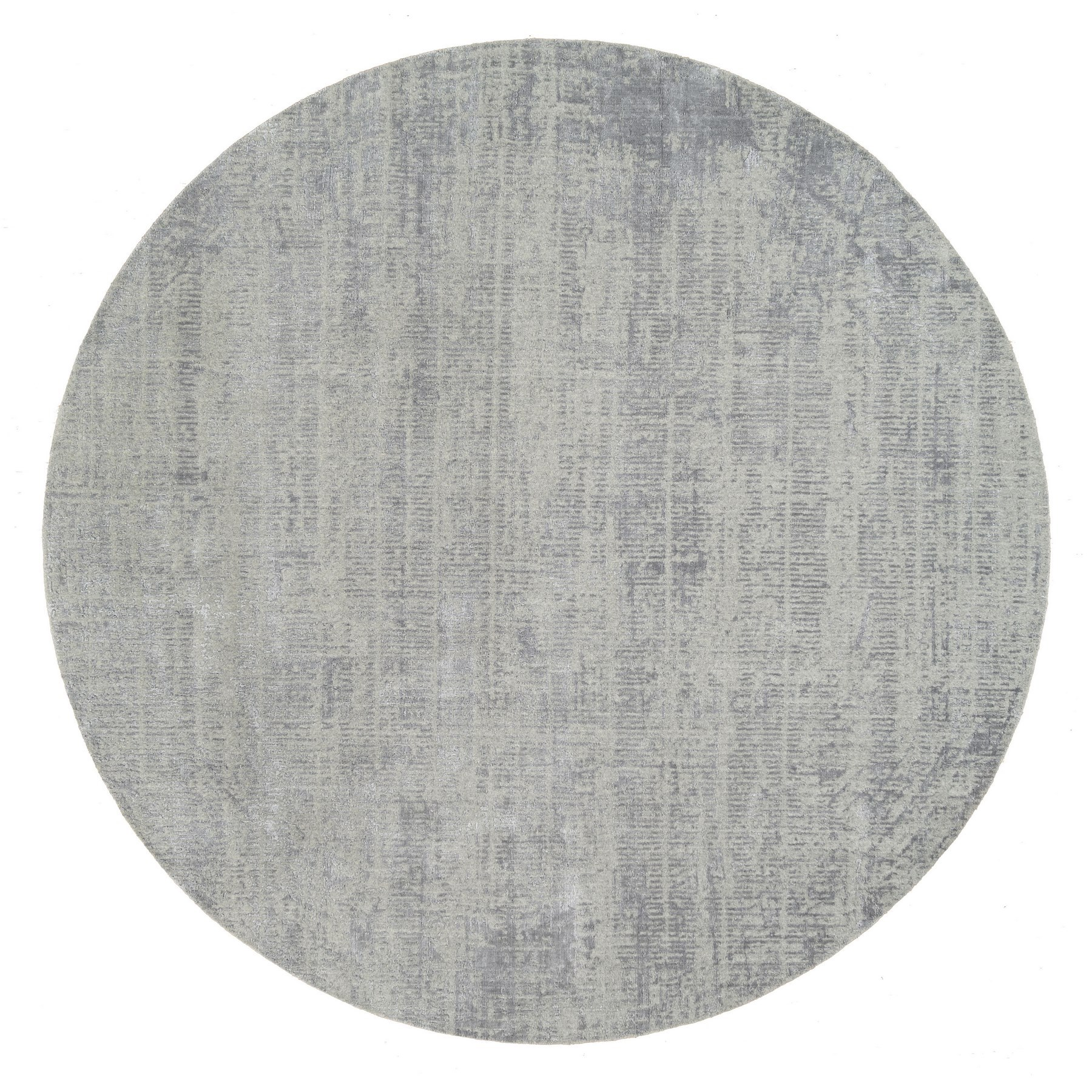 Mid Century Modern Collection Hand Loomed Grey Rug No: 1125748