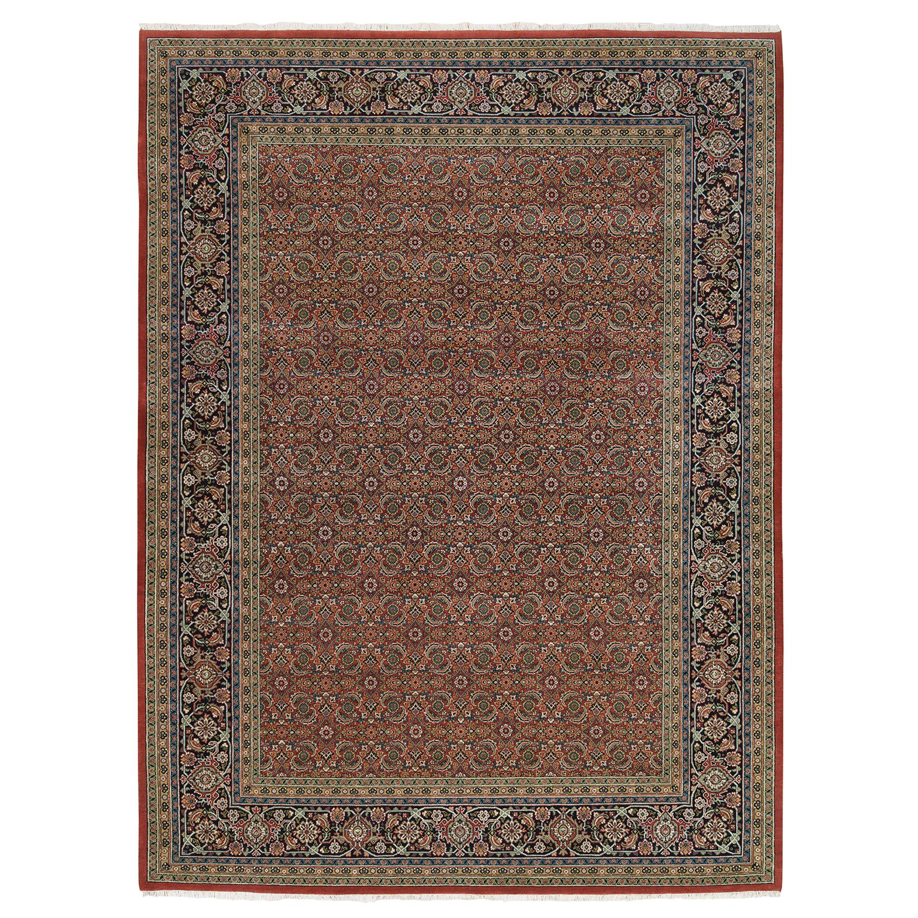 Pirniakan Collection Hand Knotted Red Rug No: 1126042