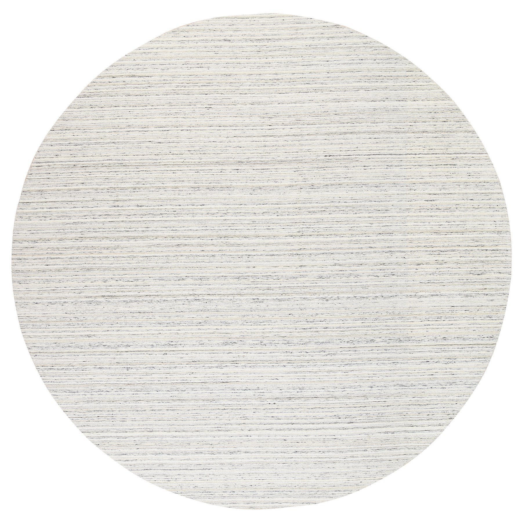 Mid Century Modern Collection Hand Loomed Grey Rug No: 1126082
