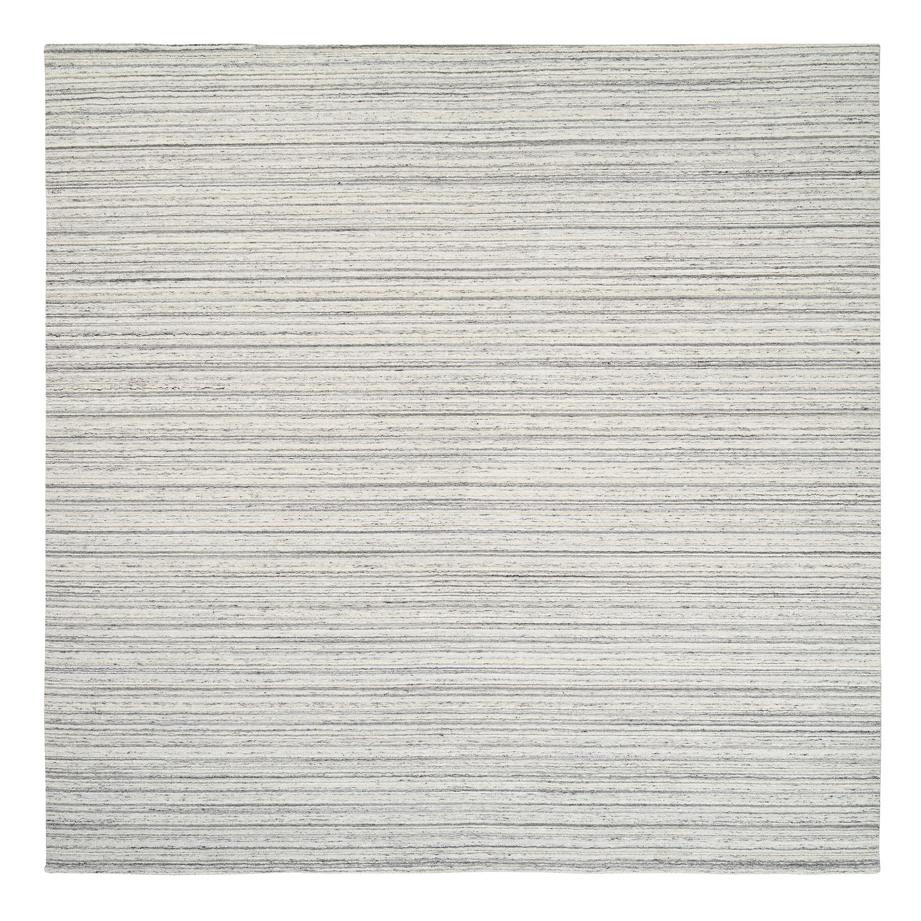 Mid Century Modern Collection Hand Loomed Grey Rug No: 1126094