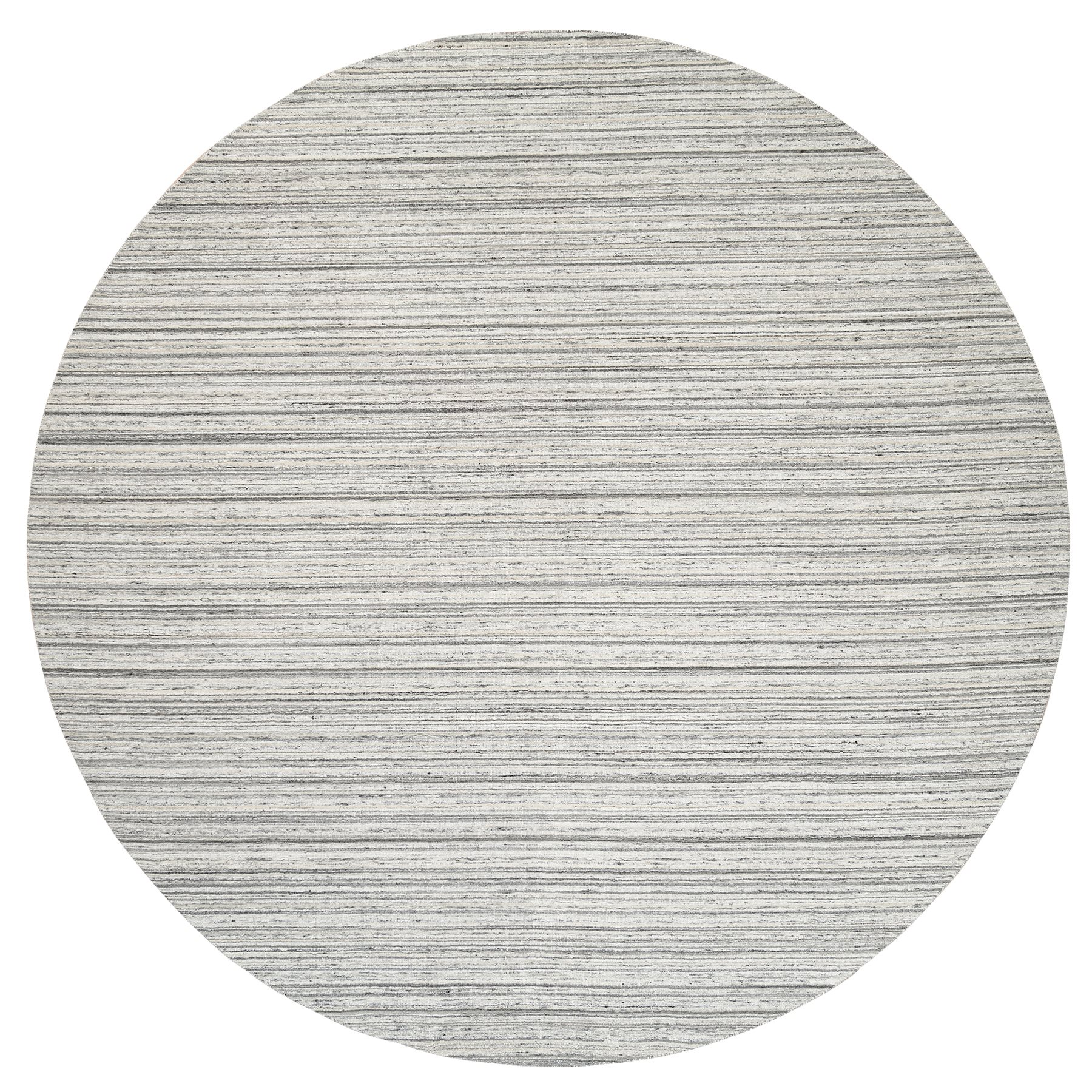 Mid Century Modern Collection Hand Loomed Grey Rug No: 1126096