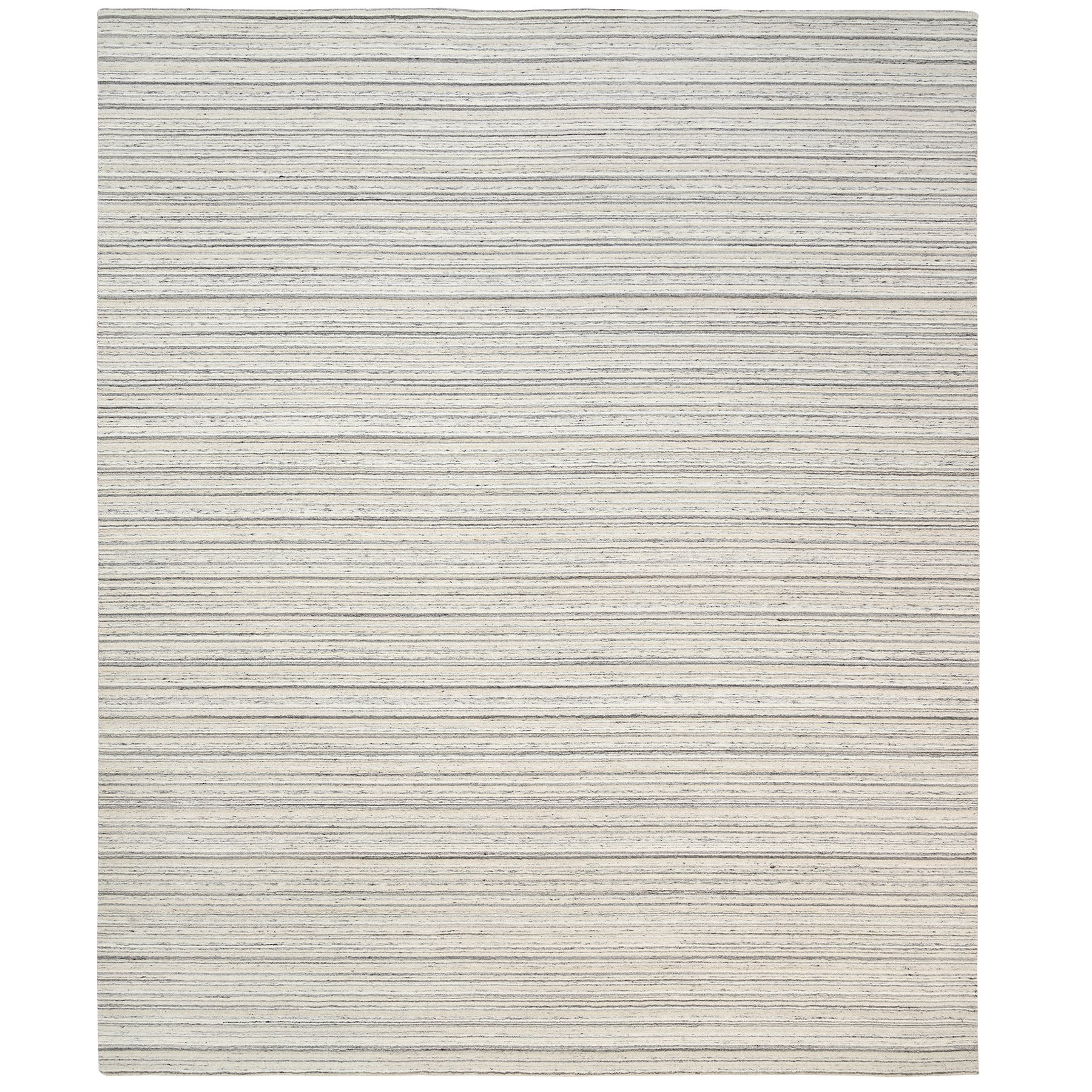 Mid Century Modern Collection Hand Loomed Grey Rug No: 1126098