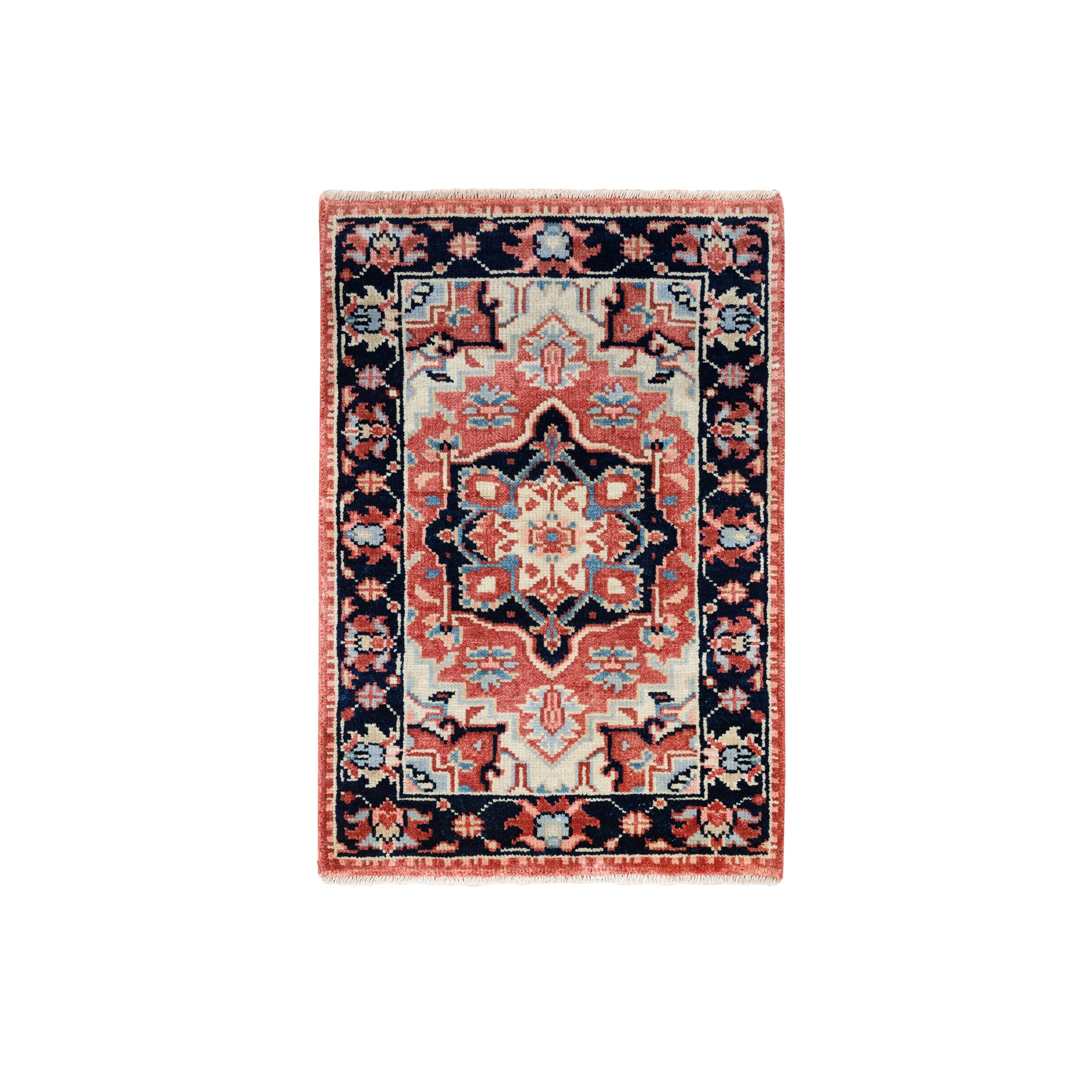Serapi Heriz and Bakhshayesh Collection Hand Knotted Red Rug No: 1126328