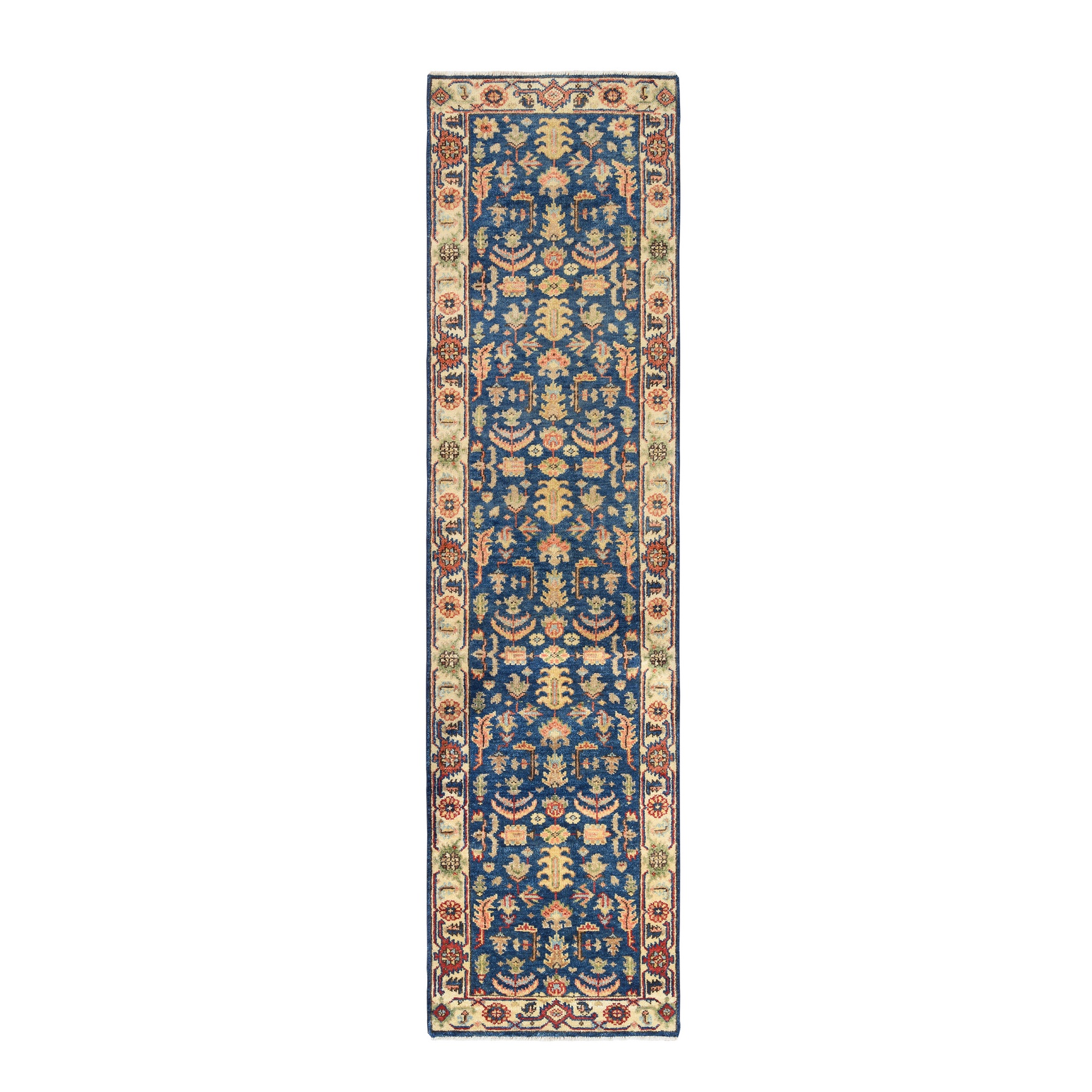 Serapi Heriz and Bakhshayesh Collection Hand Knotted Blue Rug No: 1126332