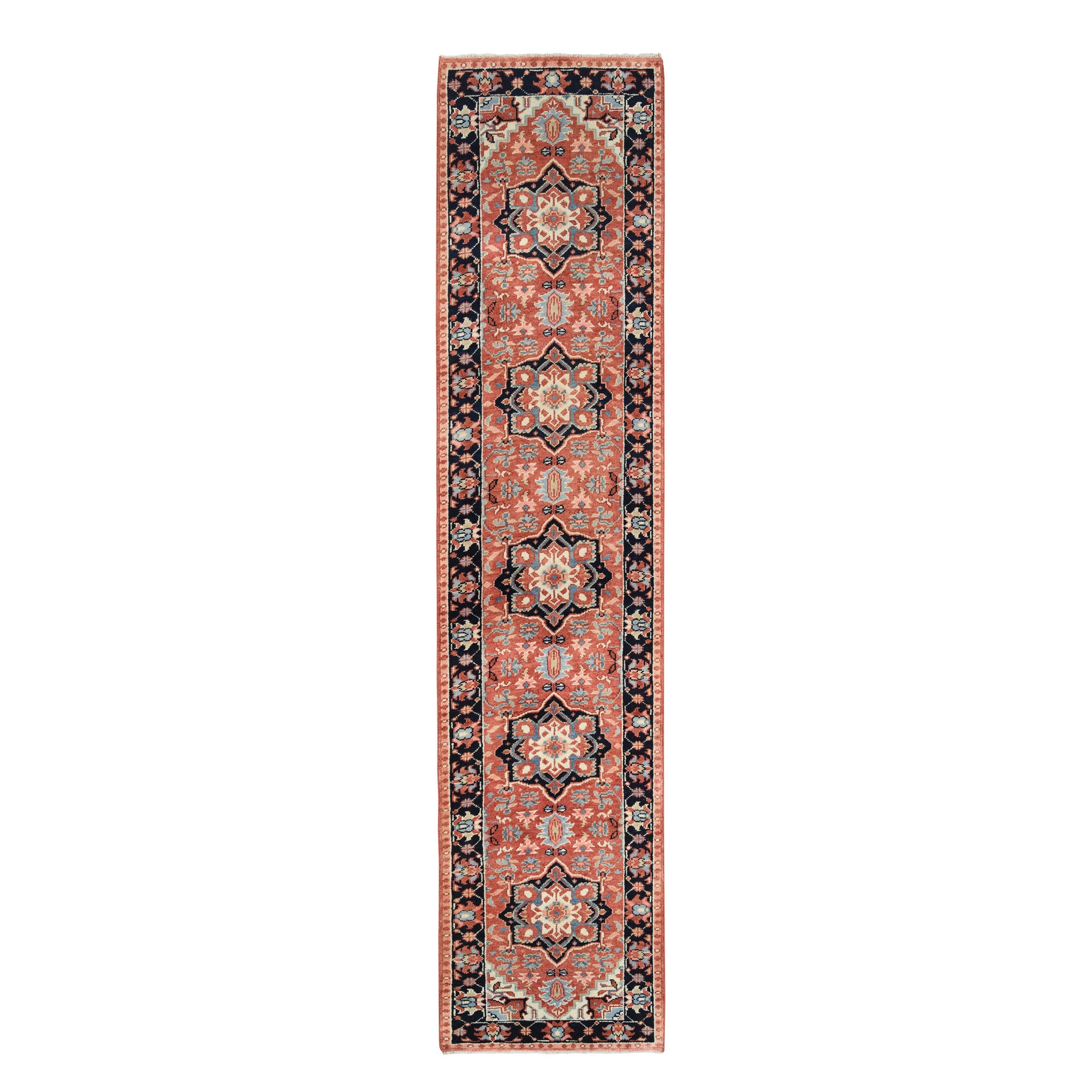 Serapi Heriz and Bakhshayesh Collection Hand Knotted Red Rug No: 1126336