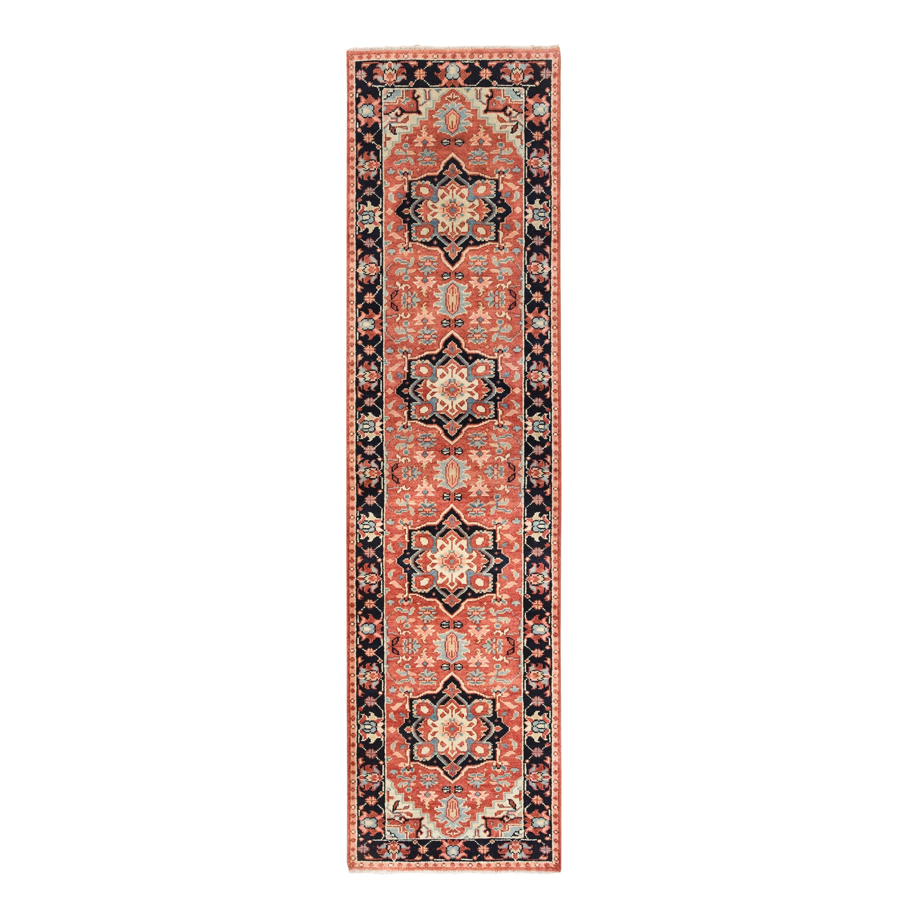 Serapi Heriz and Bakhshayesh Collection Hand Knotted Red Rug No: 1126338