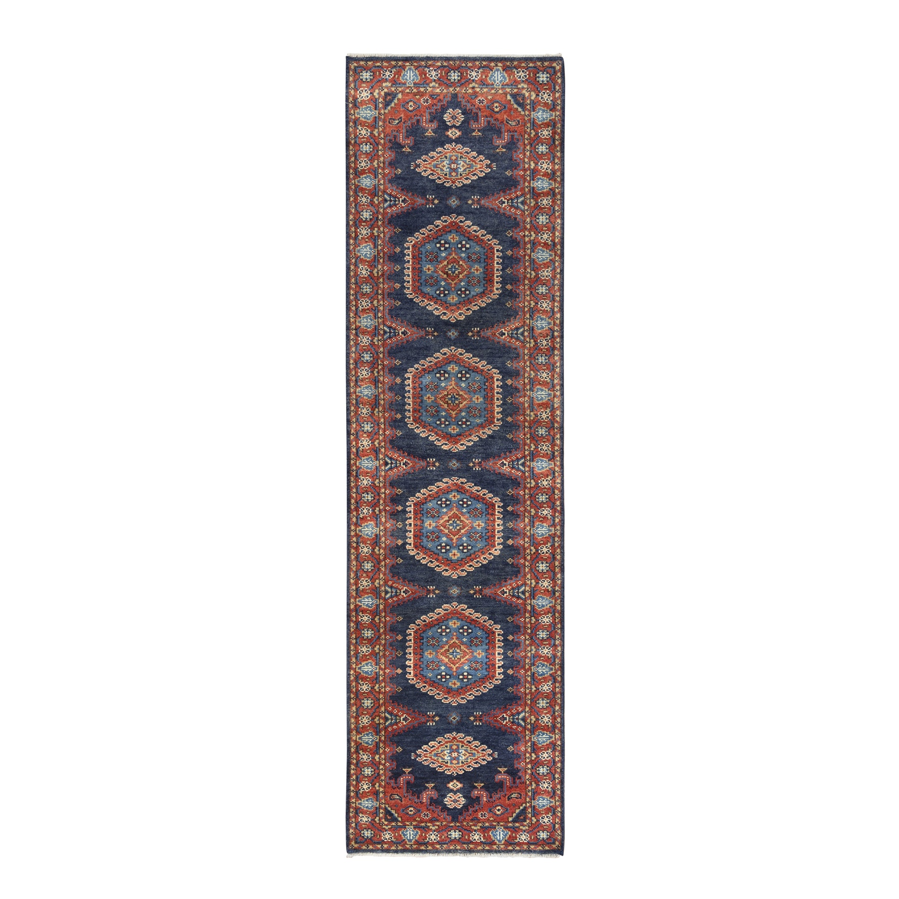 Serapi Heriz and Bakhshayesh Collection Hand Knotted Blue Rug No: 1126340