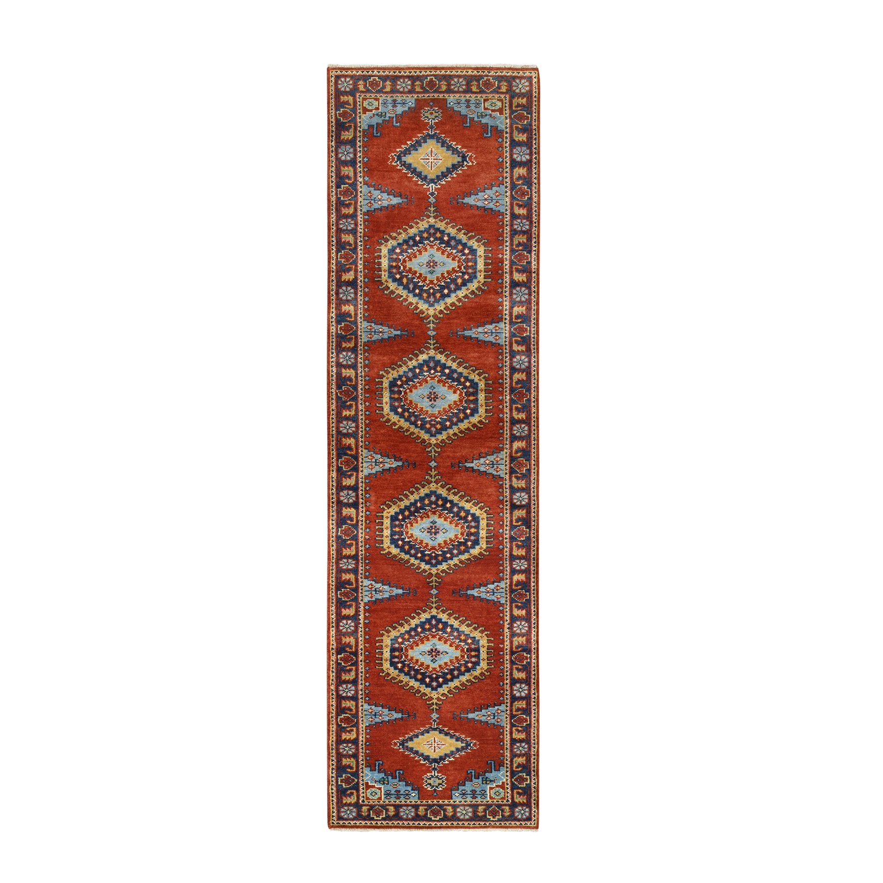 Serapi Heriz and Bakhshayesh Collection Hand Knotted Red Rug No: 1126348