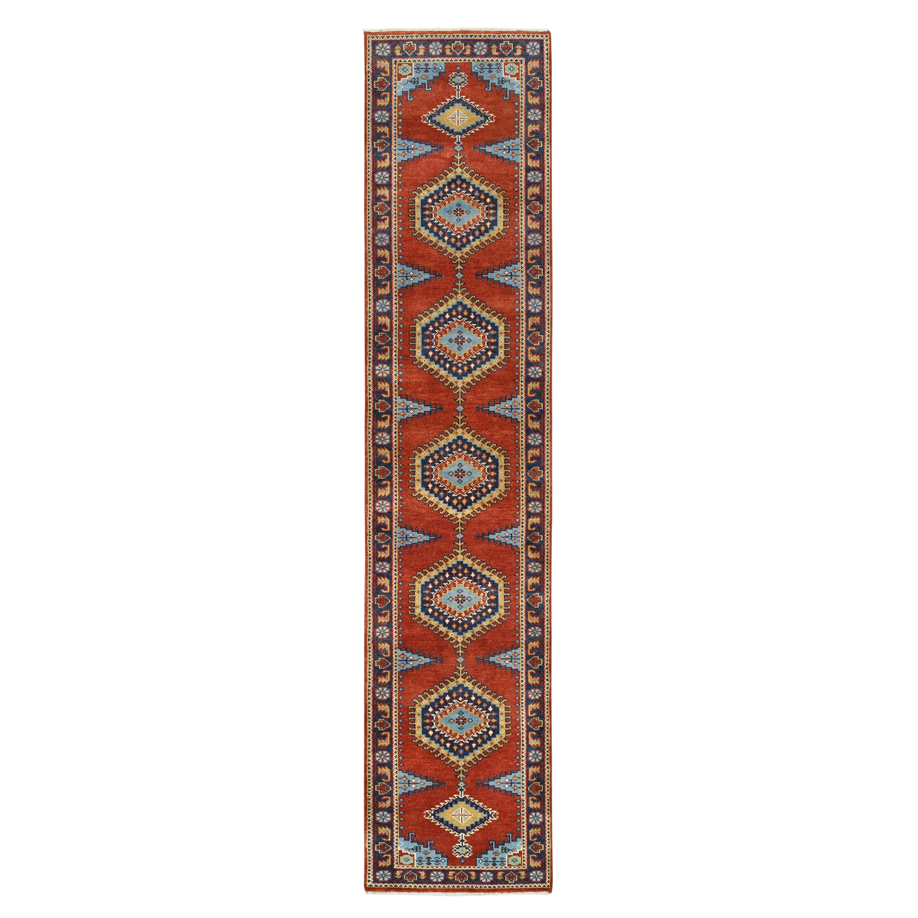 Serapi Heriz and Bakhshayesh Collection Hand Knotted Red Rug No: 1126354