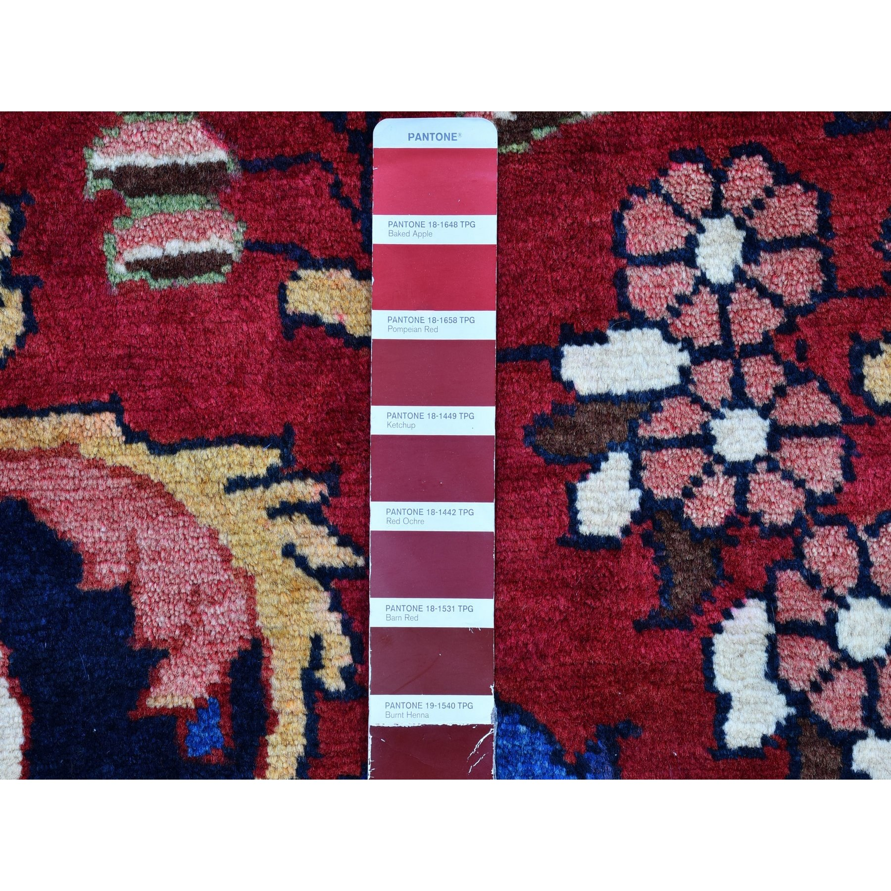 """5'5""""x7'3"""" New Persian Lilihan Rich Colors Pure Wool Hand Knotted Oriental Rug"""