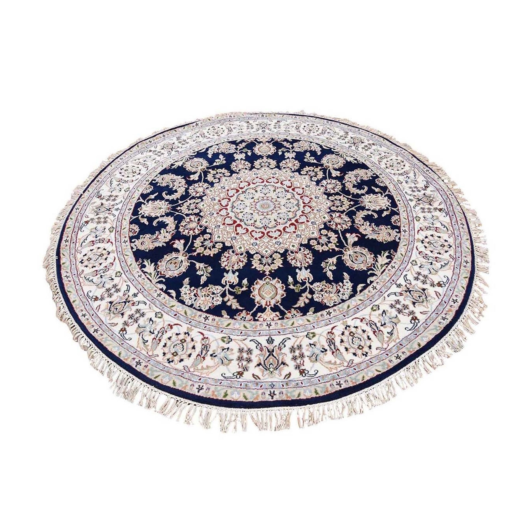 Pirniakan Collection Hand Knotted Blue Rug No: 1132452