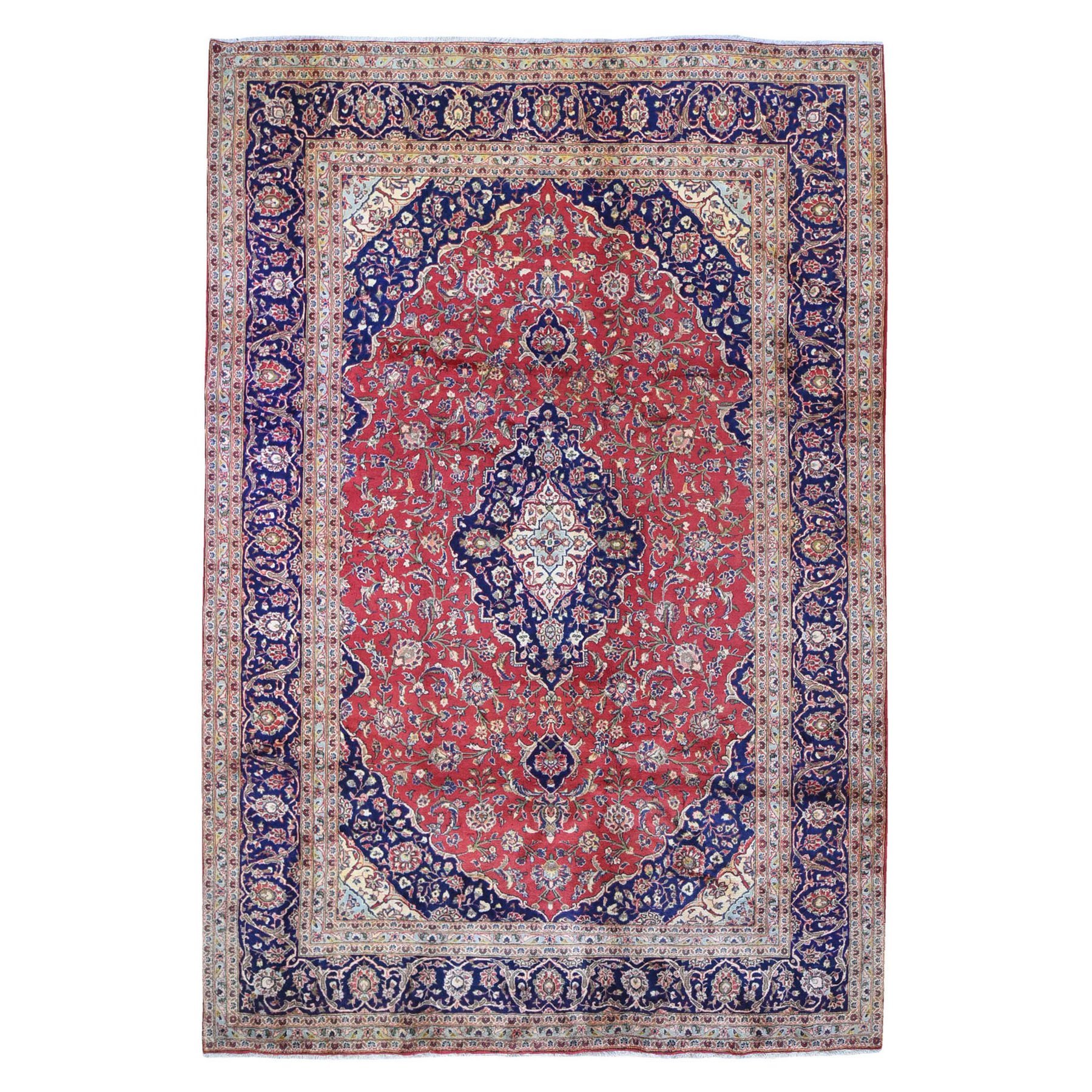 Classic Persian Collection Hand Knotted Red Rug No: 1132472