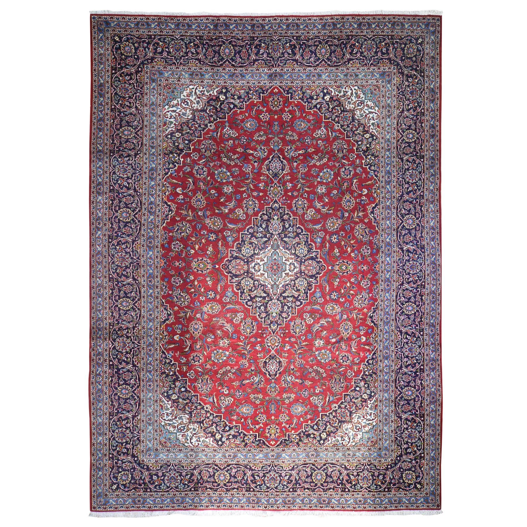 Classic Persian Collection Hand Knotted Red Rug No: 1132494