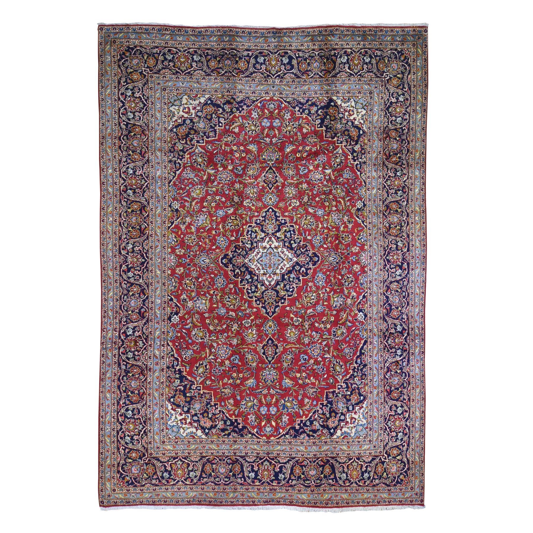 Classic Persian Collection Hand Knotted Red Rug No: 1132500