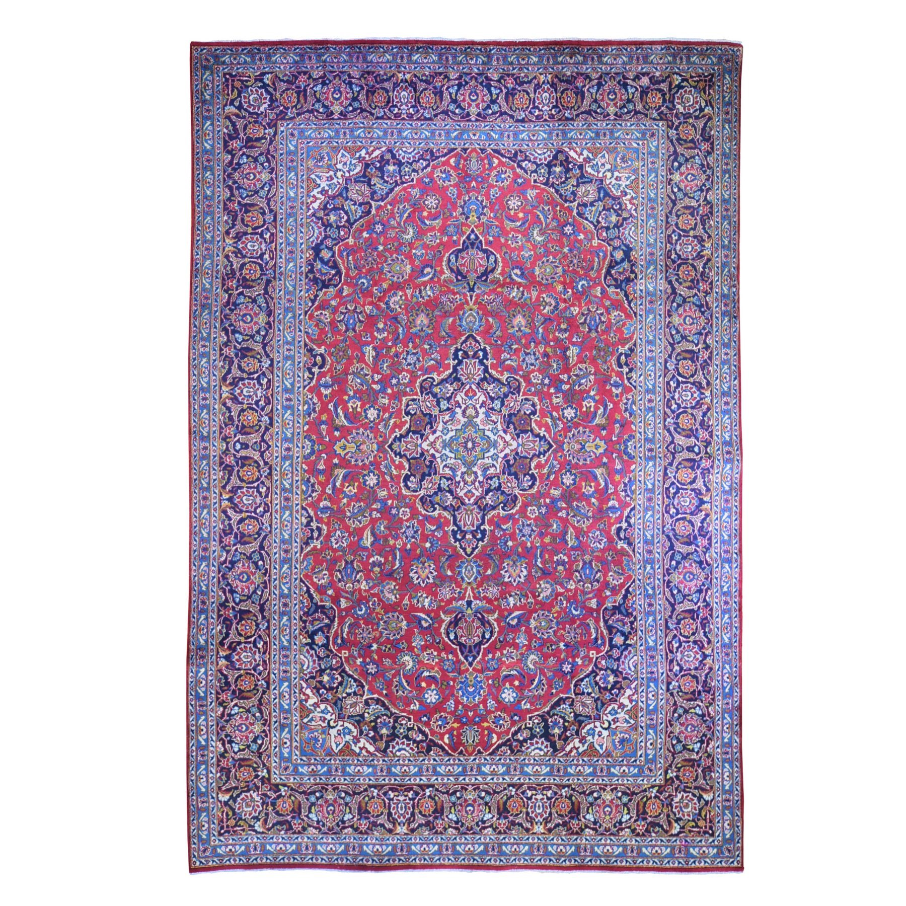 Classic Persian Collection Hand Knotted Red Rug No: 1132502