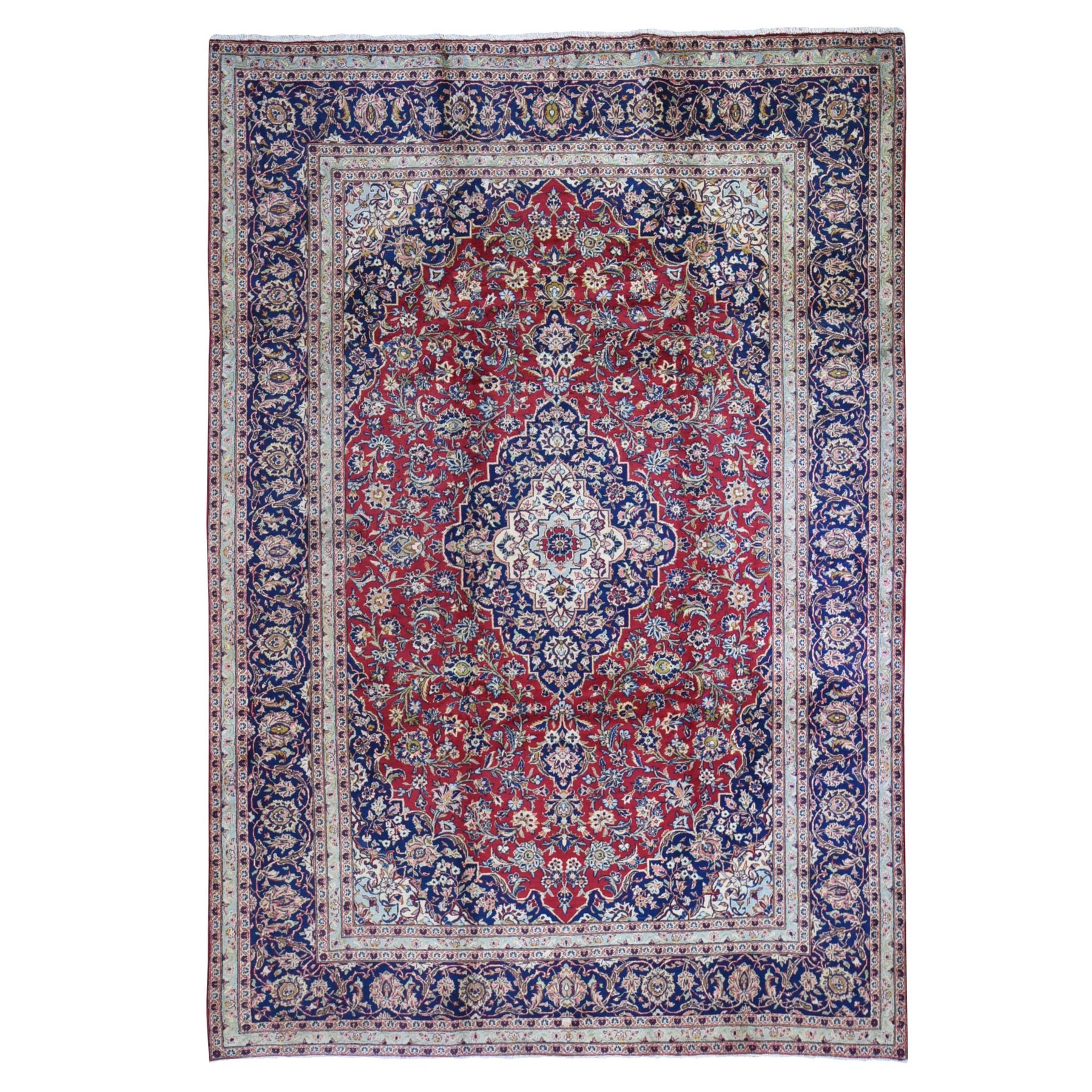 Classic Persian Collection Hand Knotted Red Rug No: 1132514