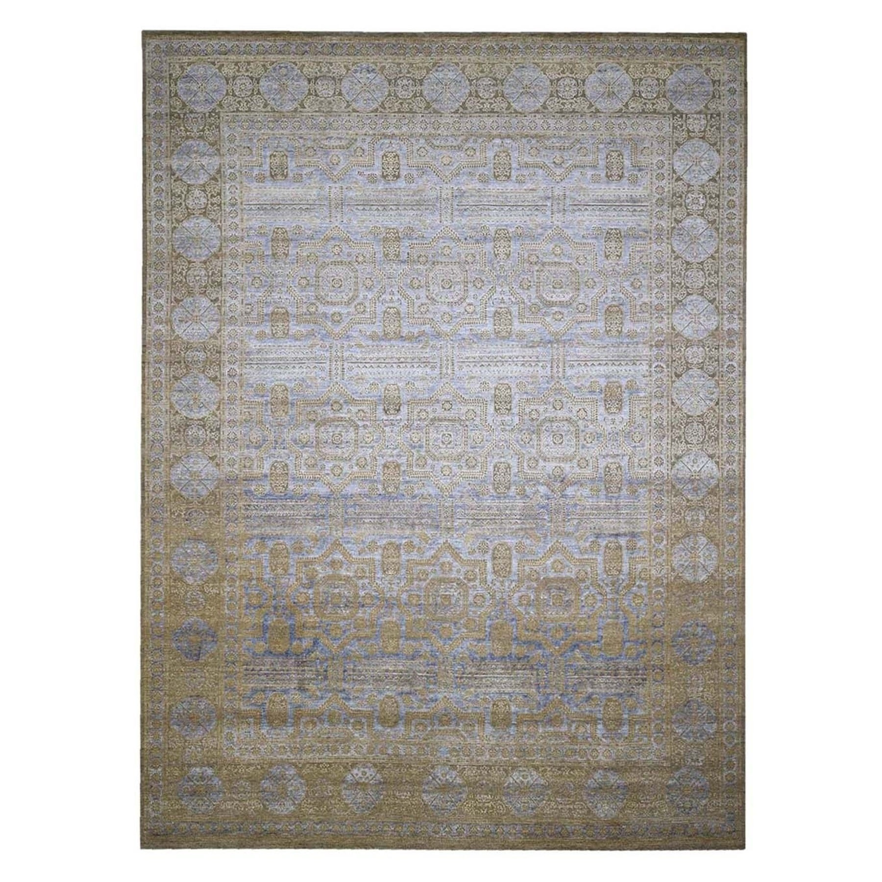 Intricate Collection Hand Knotted Beige Rug No: 1132718