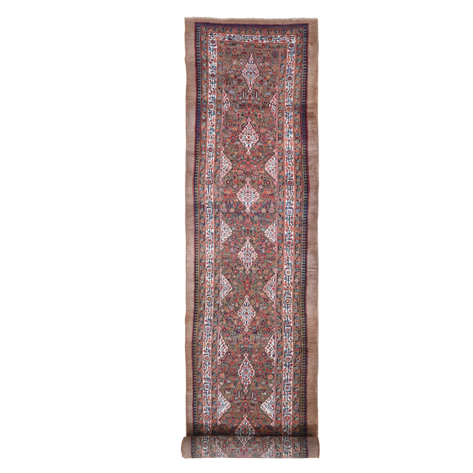 Antique Collection Hand Knotted Brown Rug No: 1133186