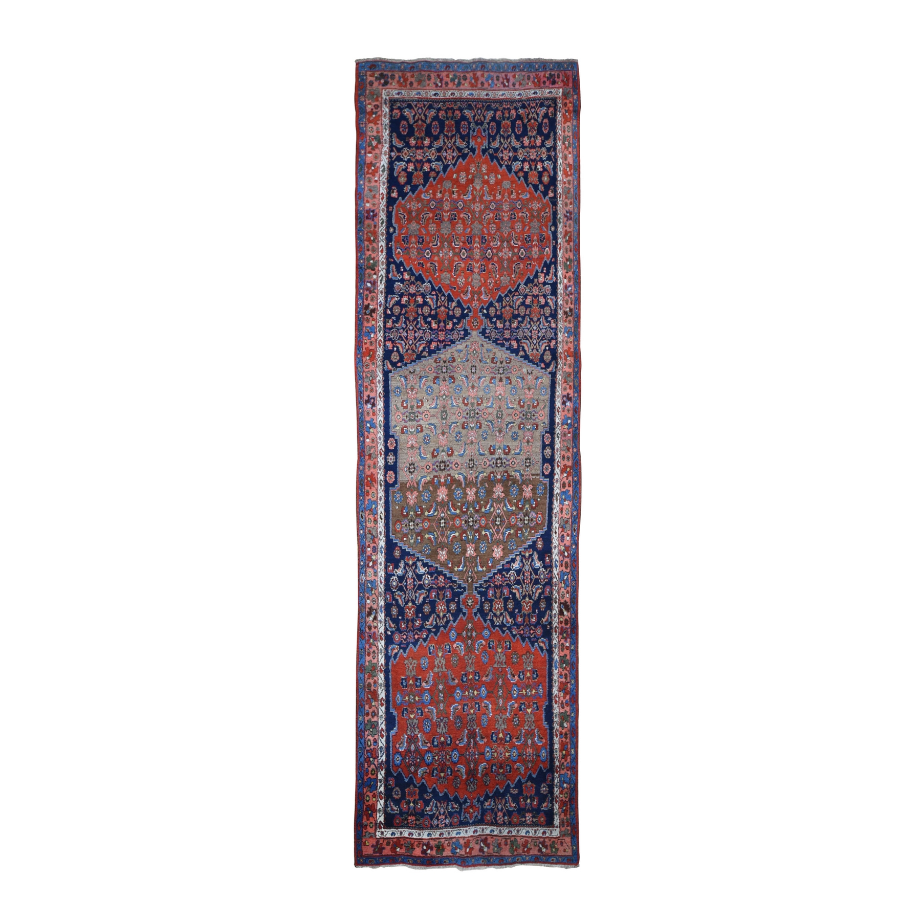Antique Collection Hand Knotted Blue Rug No: 1133188