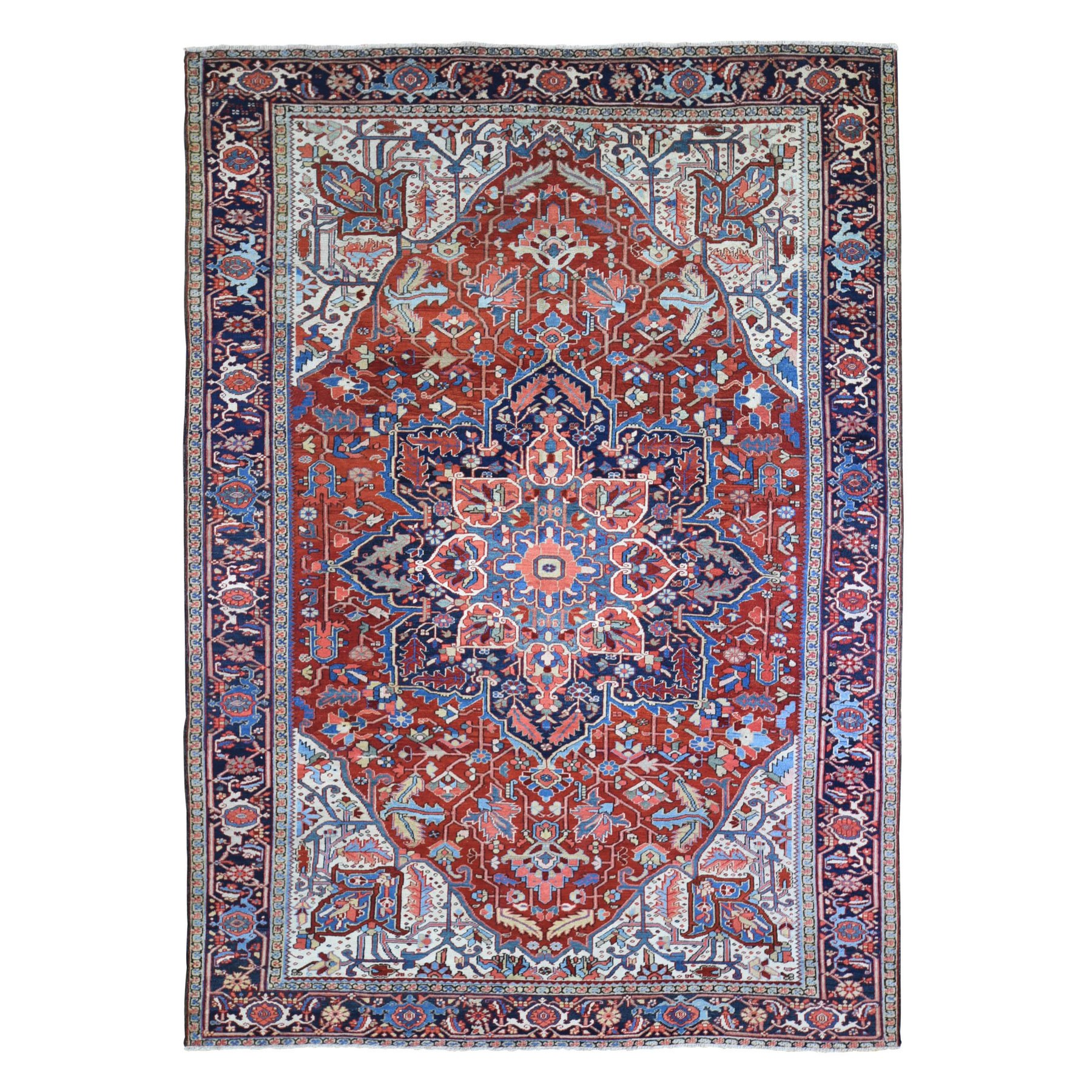 Classic Persian Collection Hand Knotted Red Rug No: 1133322
