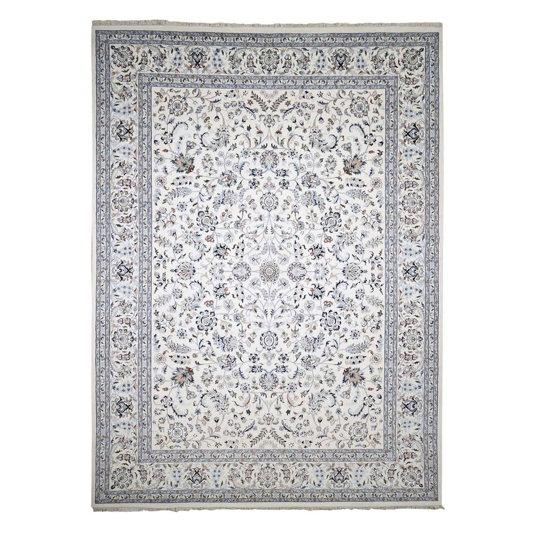 Pirniakan Collection Hand Knotted Ivory Rug No: 1133376