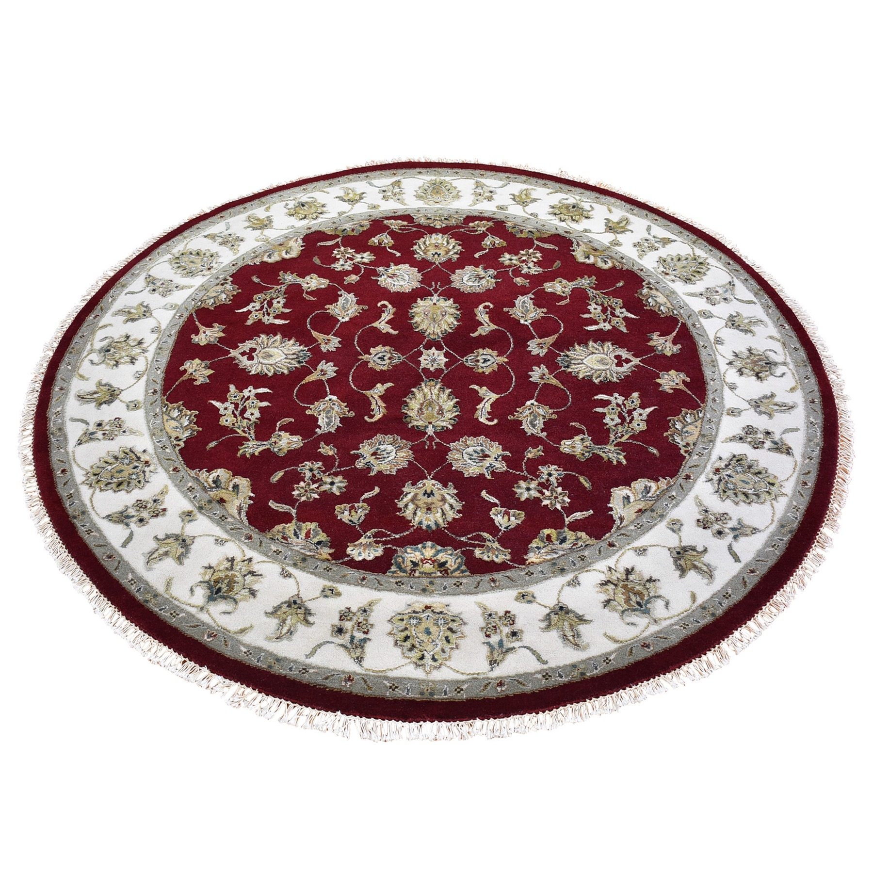 Pahlavi Collection Hand Knotted Red Rug No: 1133480