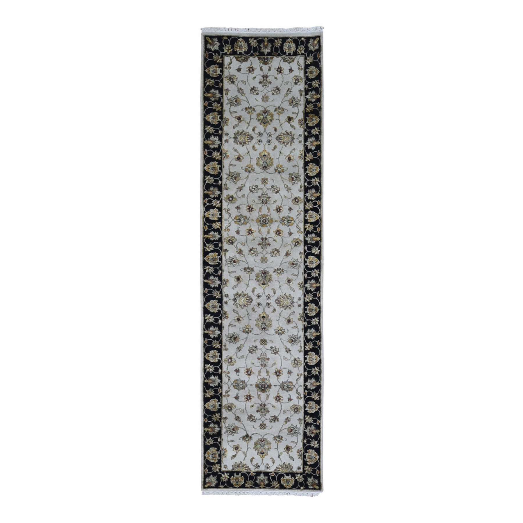 Pahlavi Collection Hand Knotted Ivory Rug No: 1133538