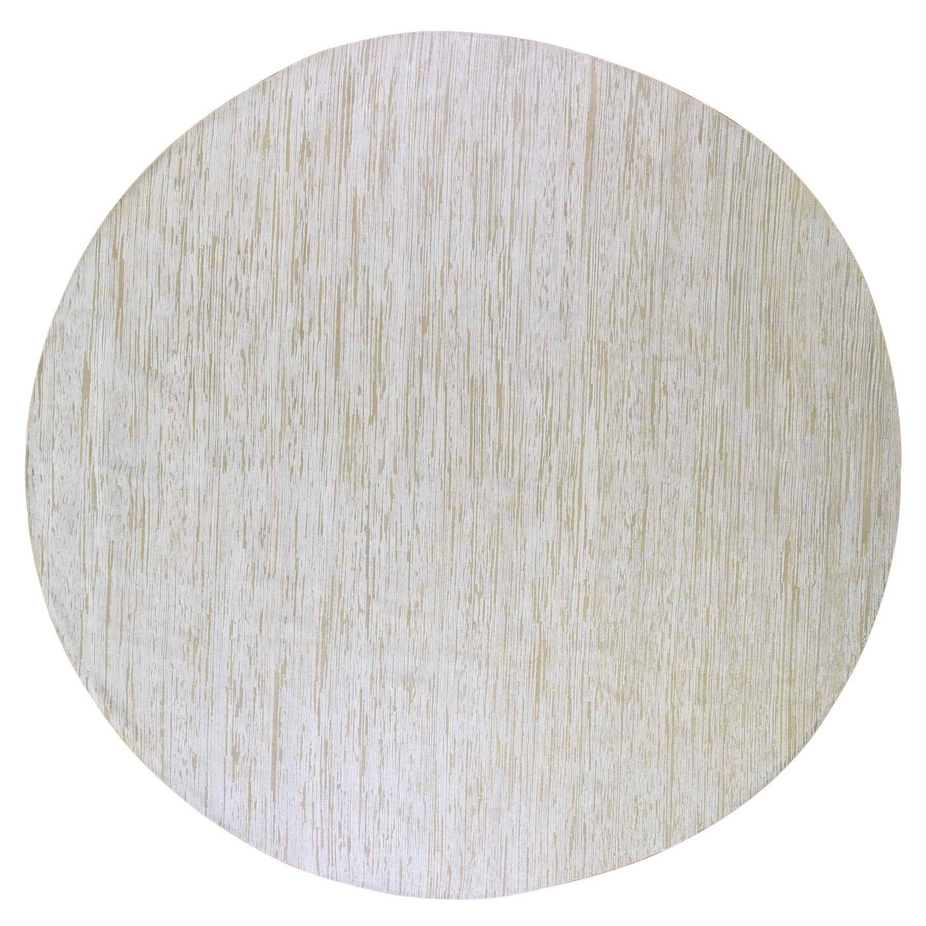 Mid Century Modern Collection Hand Knotted Ivory Rug No: 1133596