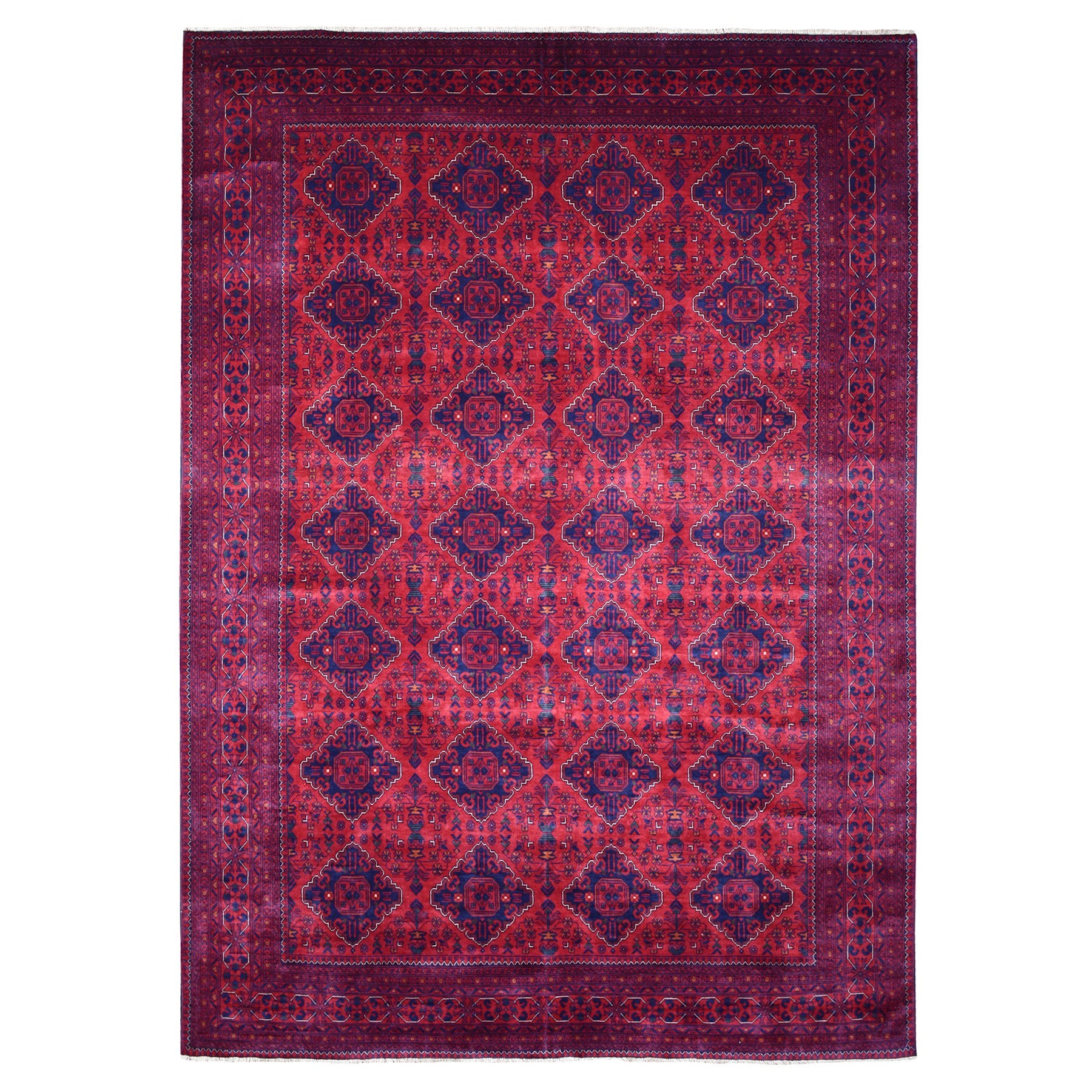 Nomadic And Village Collection Hand Knotted Red Rug No: 1135576