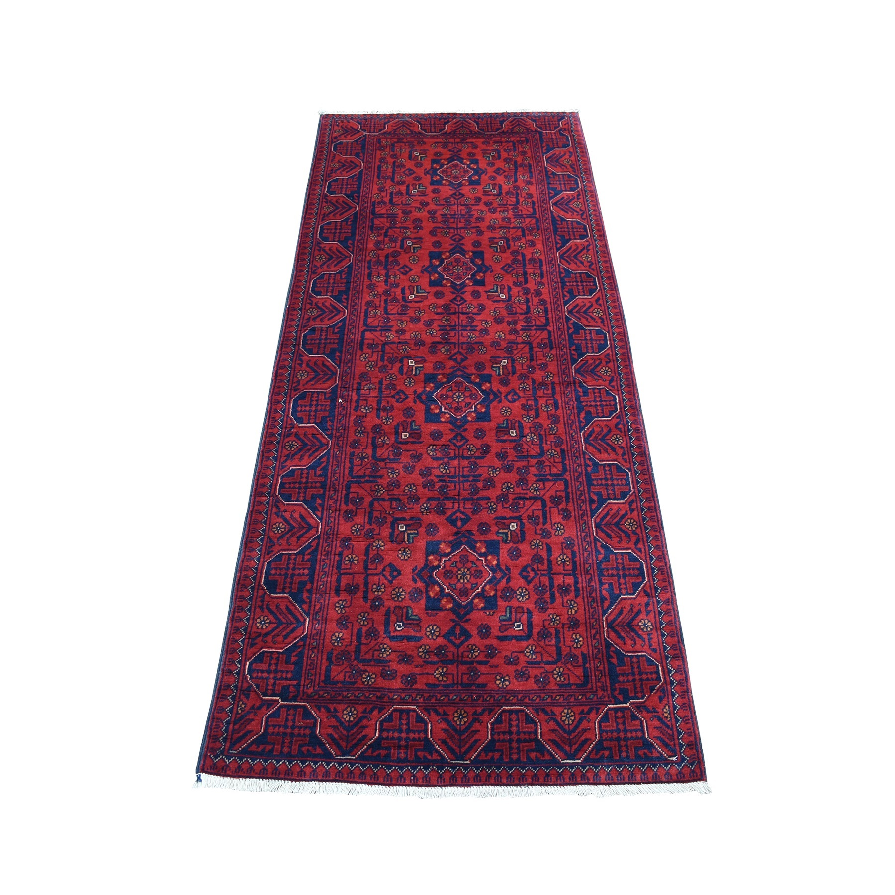 Nomadic And Village Collection Hand Knotted Red Rug No: 1135936